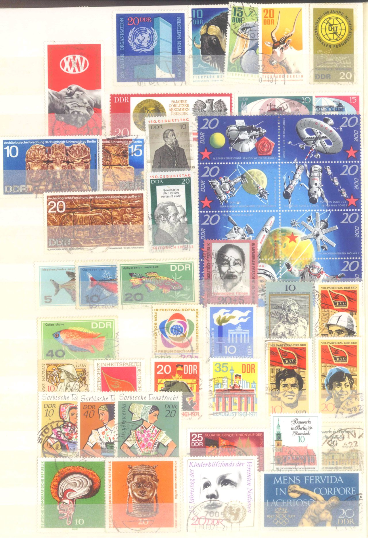 Briefmarken Nachlass Alle Welt-6