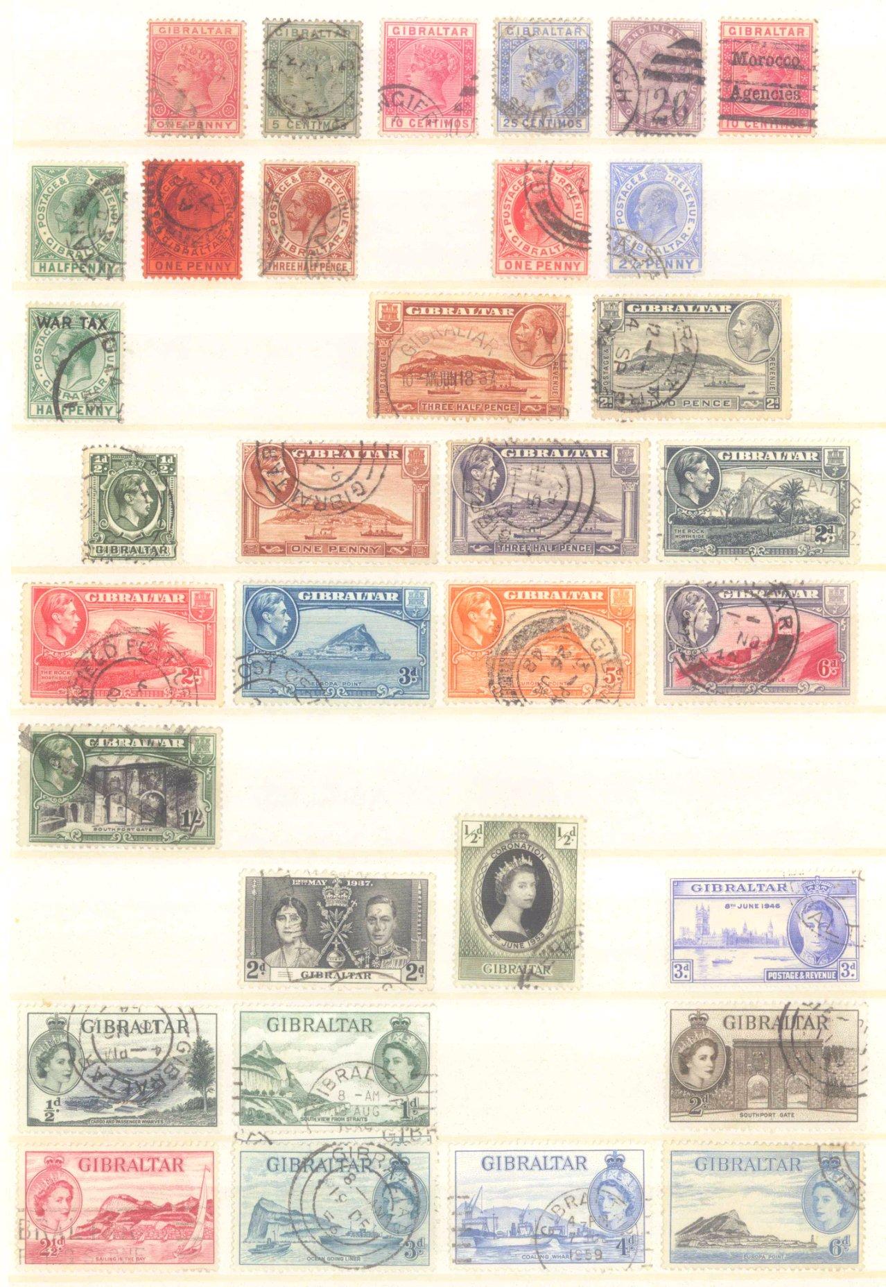 Briefmarken Nachlass Alle Welt-7