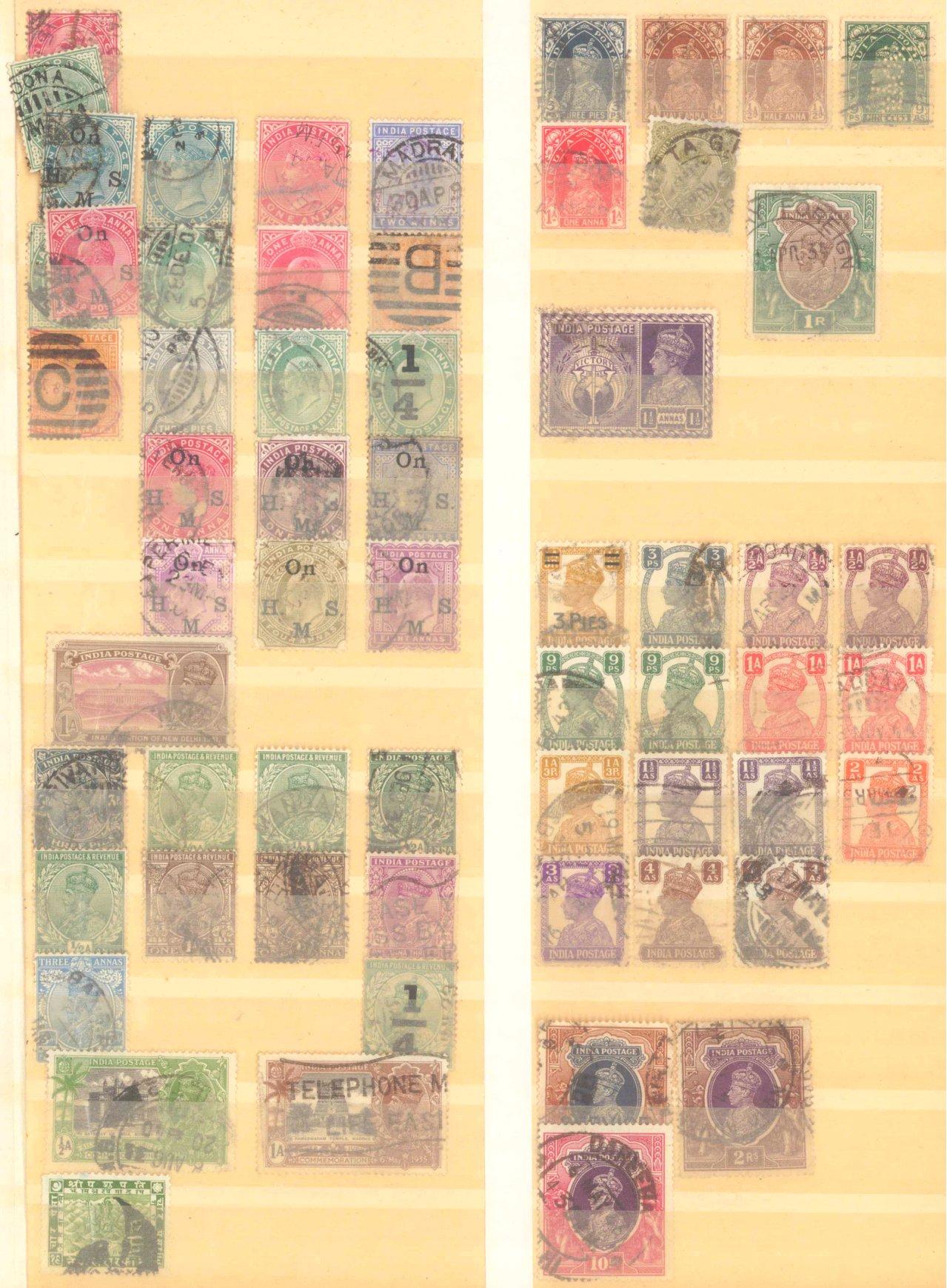 Briefmarken Nachlass Alle Welt-8
