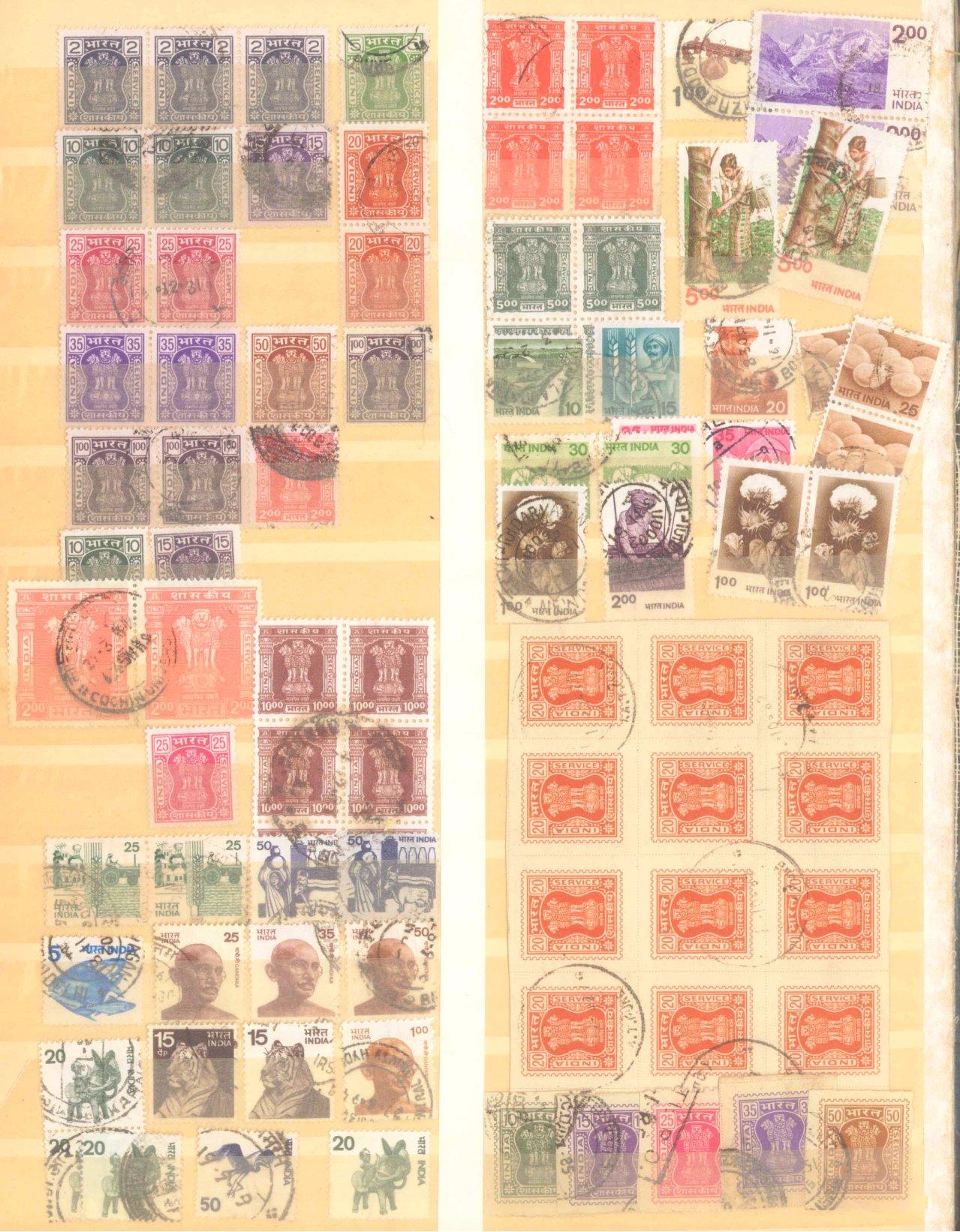 Briefmarken Nachlass Alle Welt-9