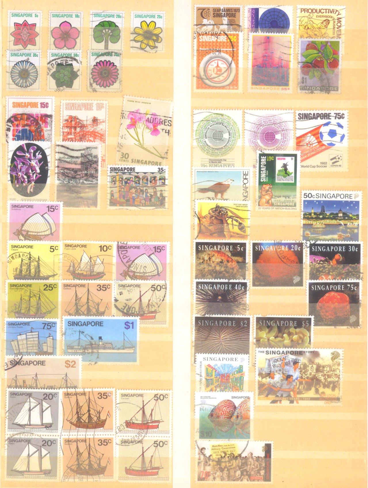 Briefmarken Nachlass Alle Welt-11