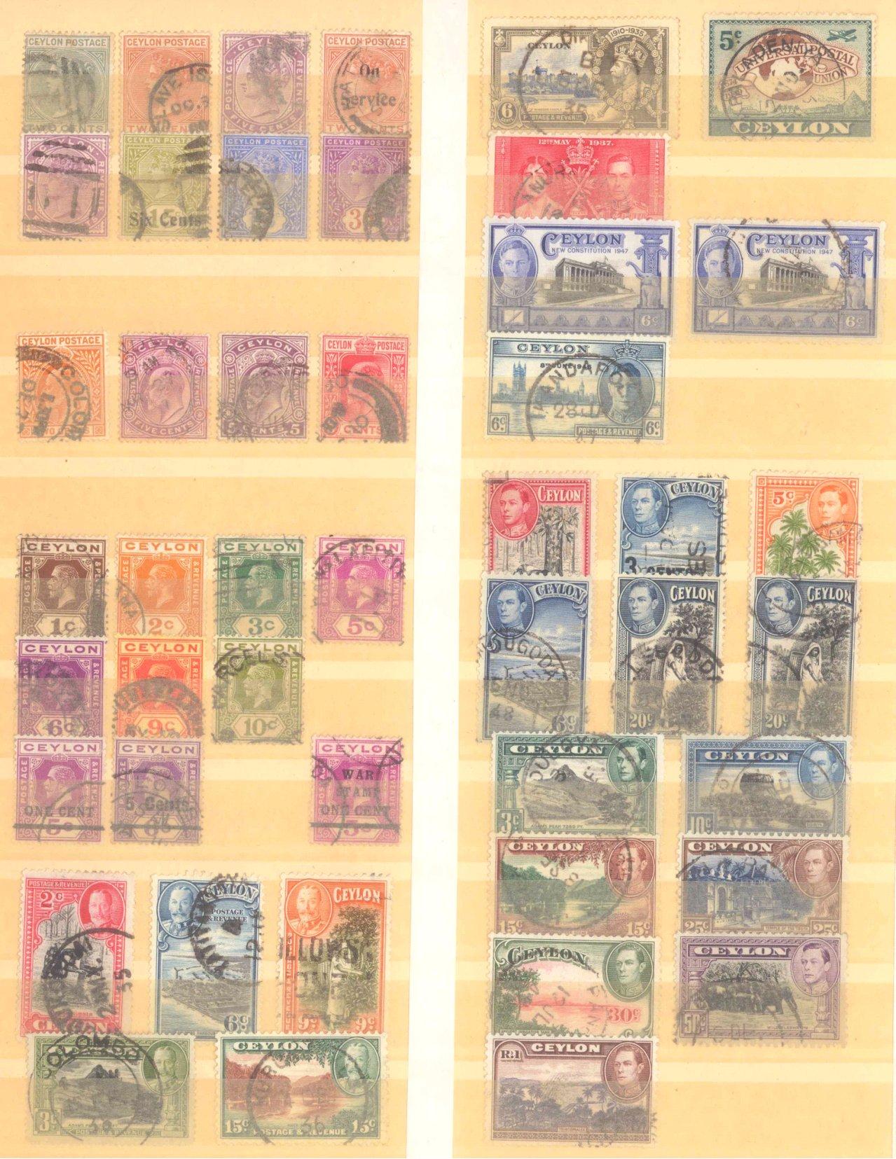 Briefmarken Nachlass Alle Welt-12