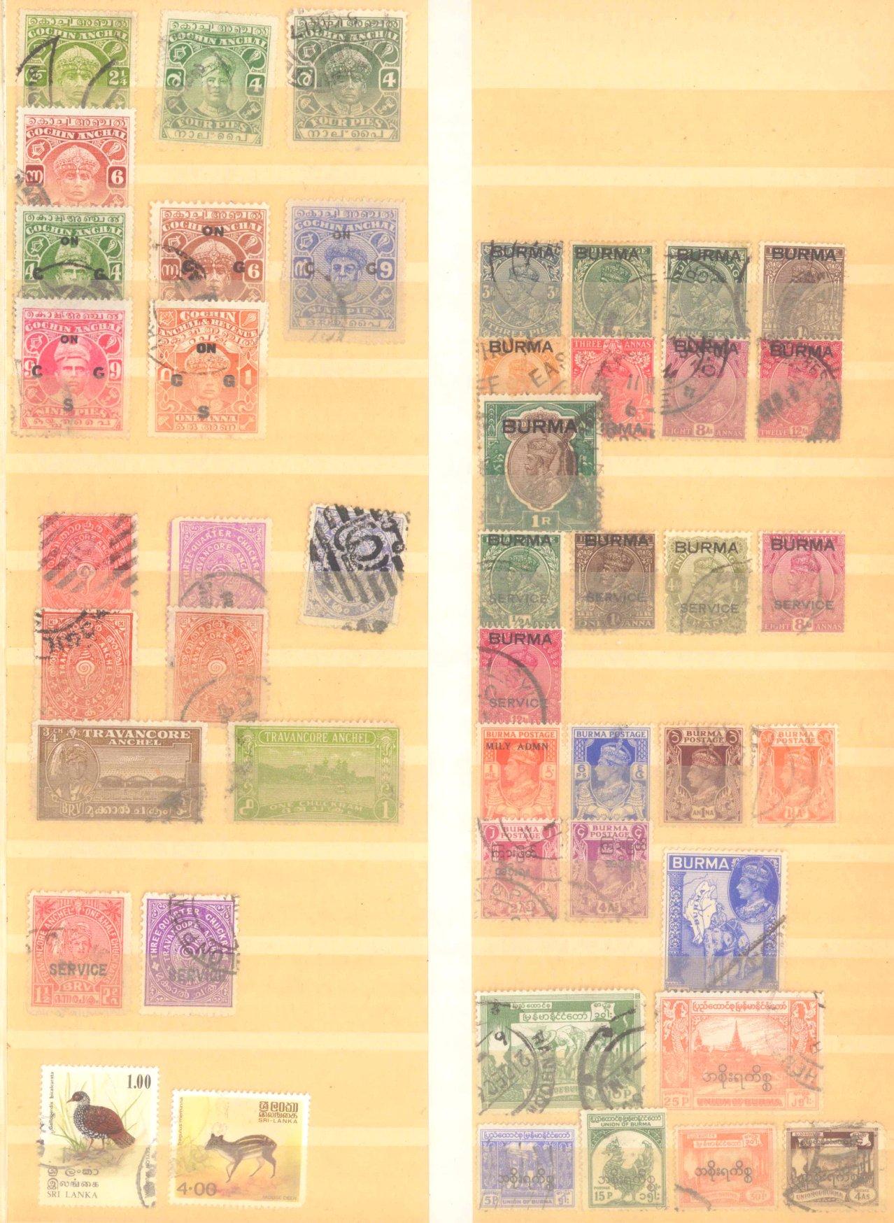 Briefmarken Nachlass Alle Welt-13
