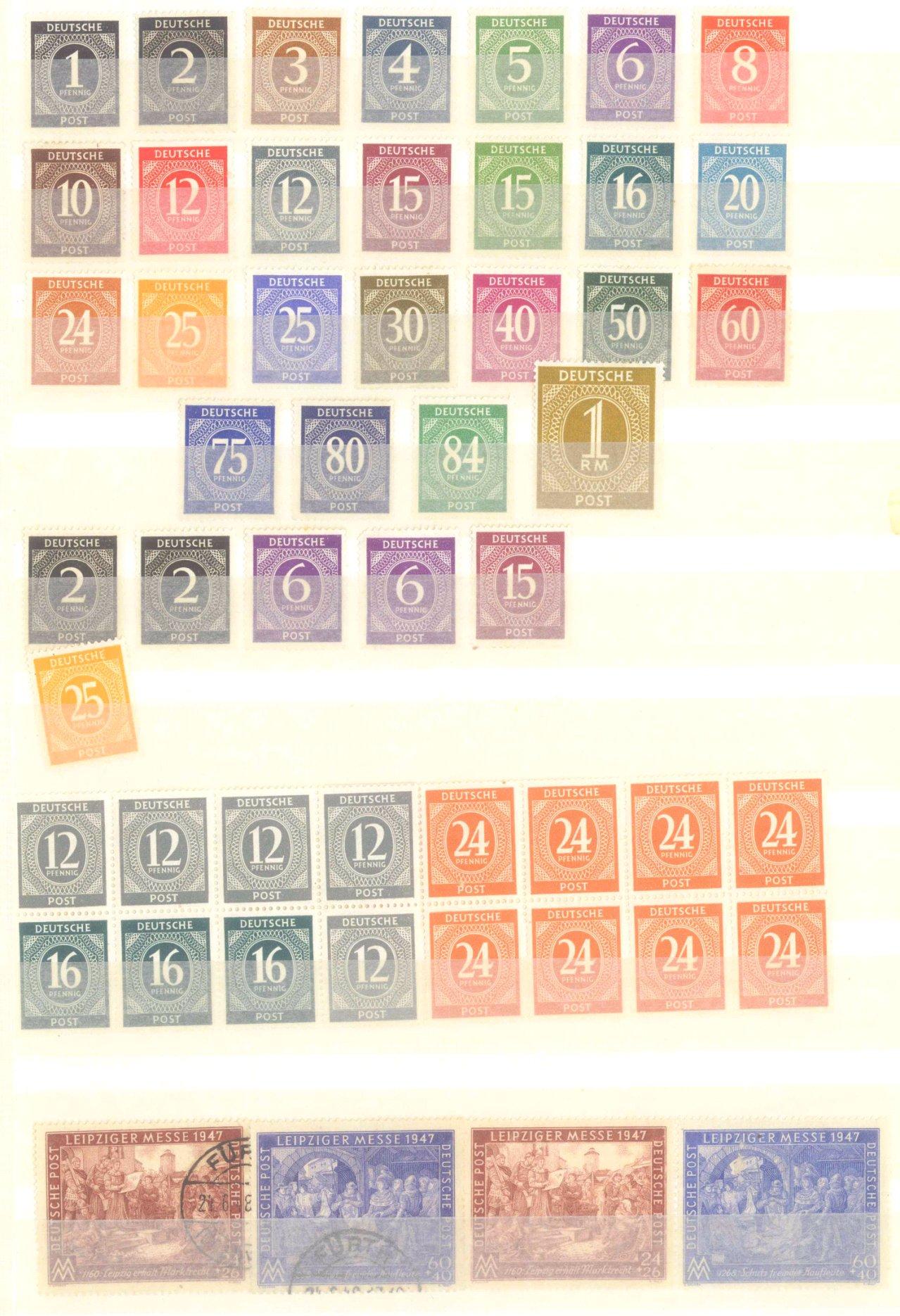 Briefmarken Nachlass Alle Welt-14