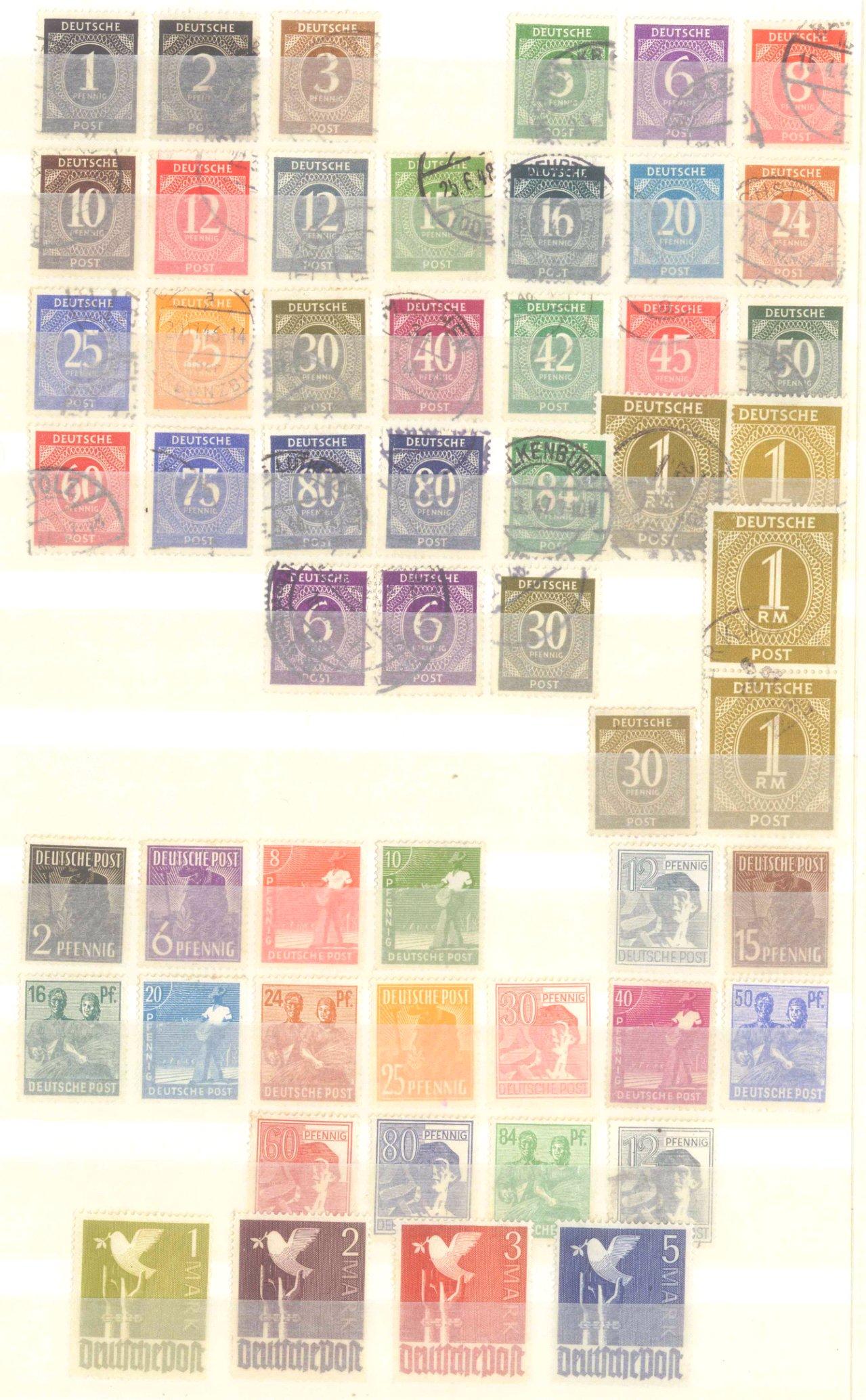 Briefmarken Nachlass Alle Welt-15