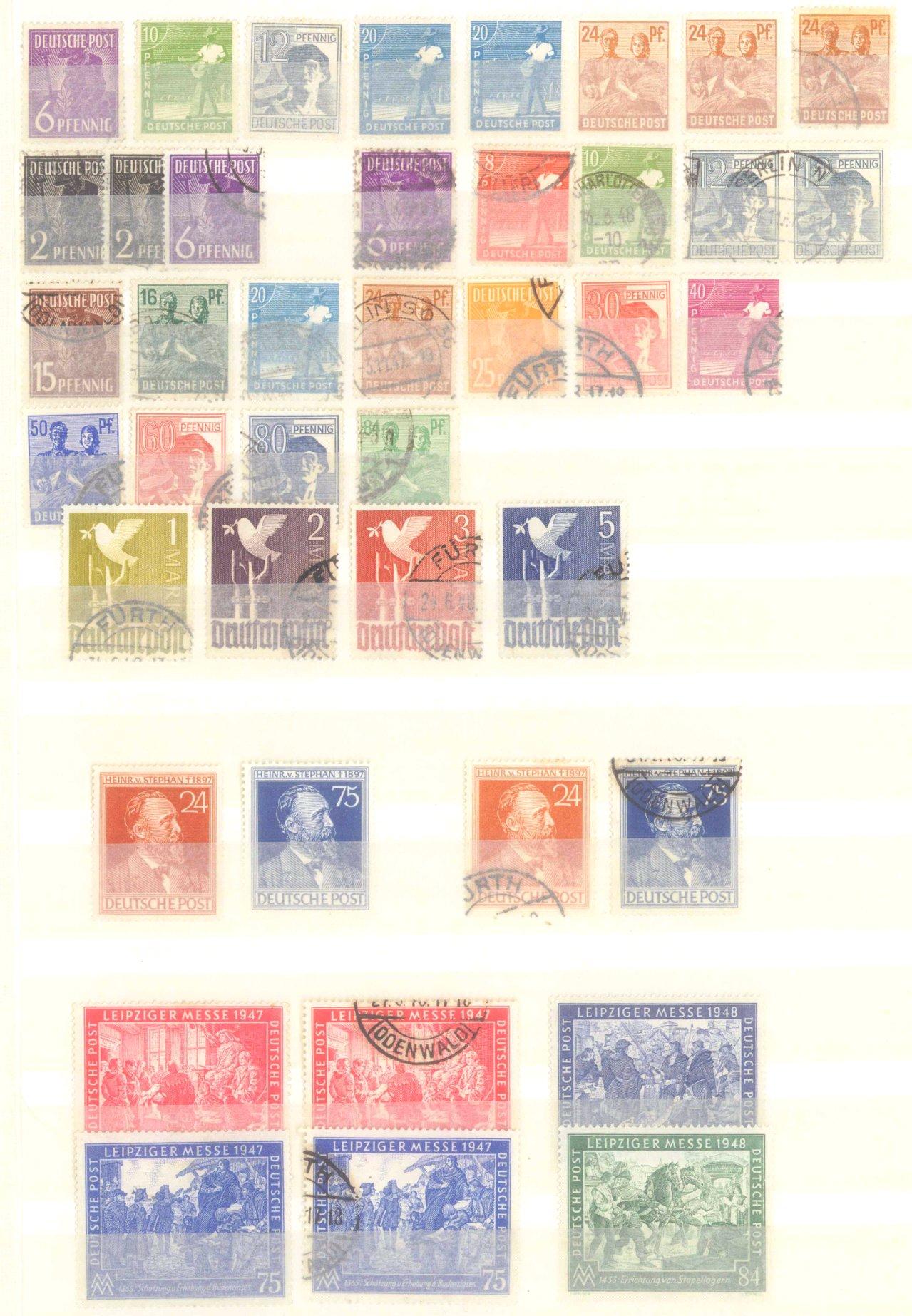 Briefmarken Nachlass Alle Welt-16