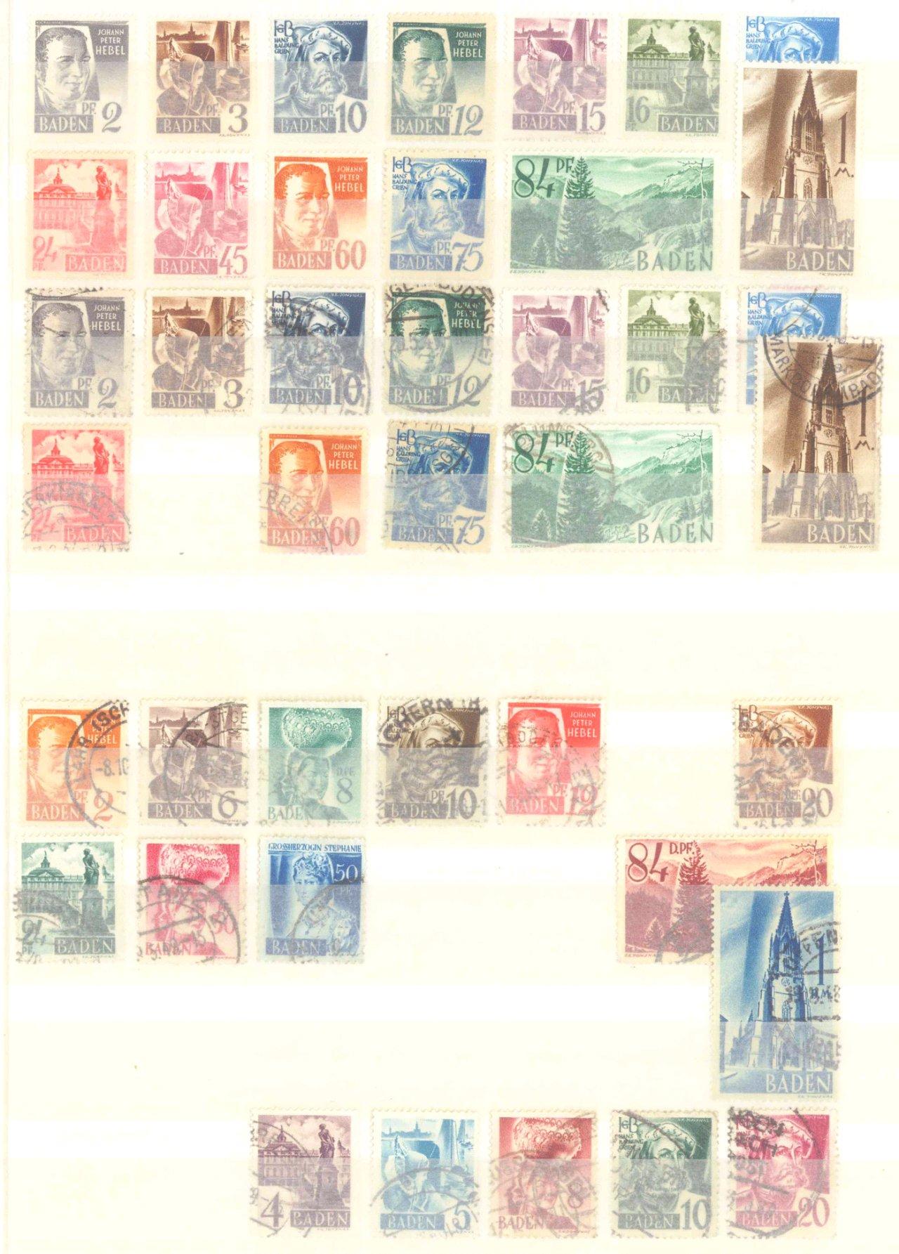 Briefmarken Nachlass Alle Welt-17