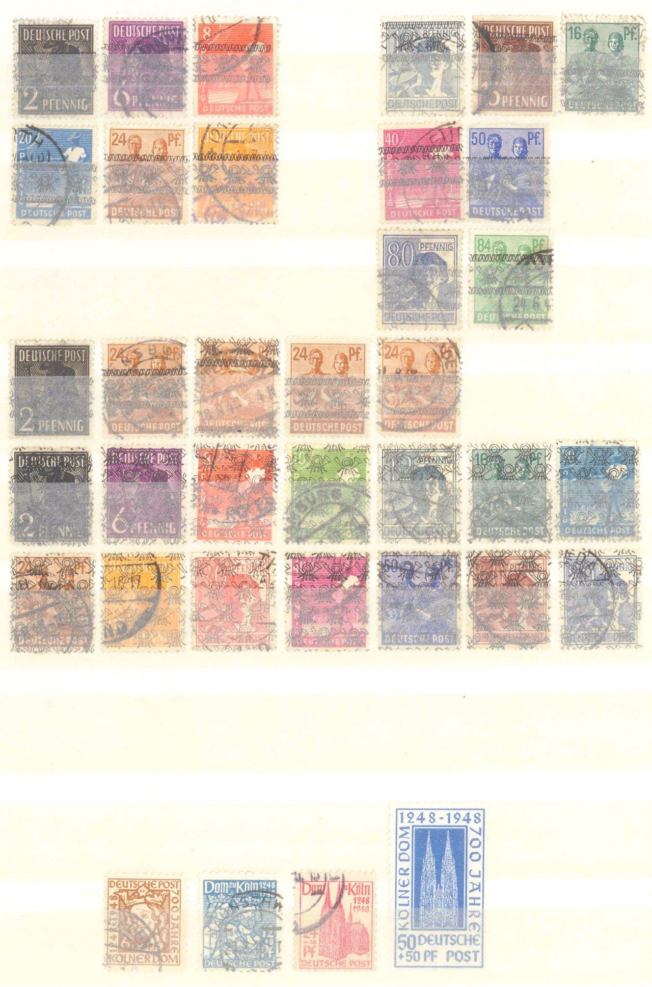 Briefmarken Nachlass Alle Welt-18