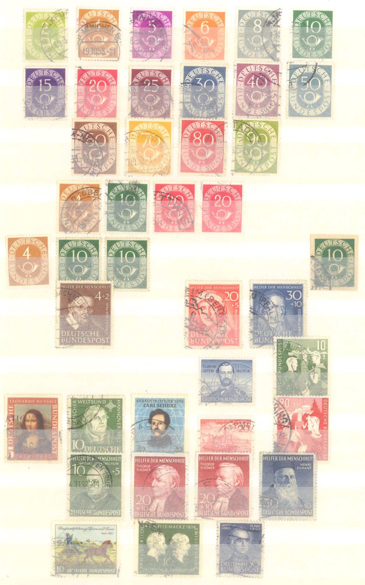 Briefmarken Nachlass Alle Welt-19