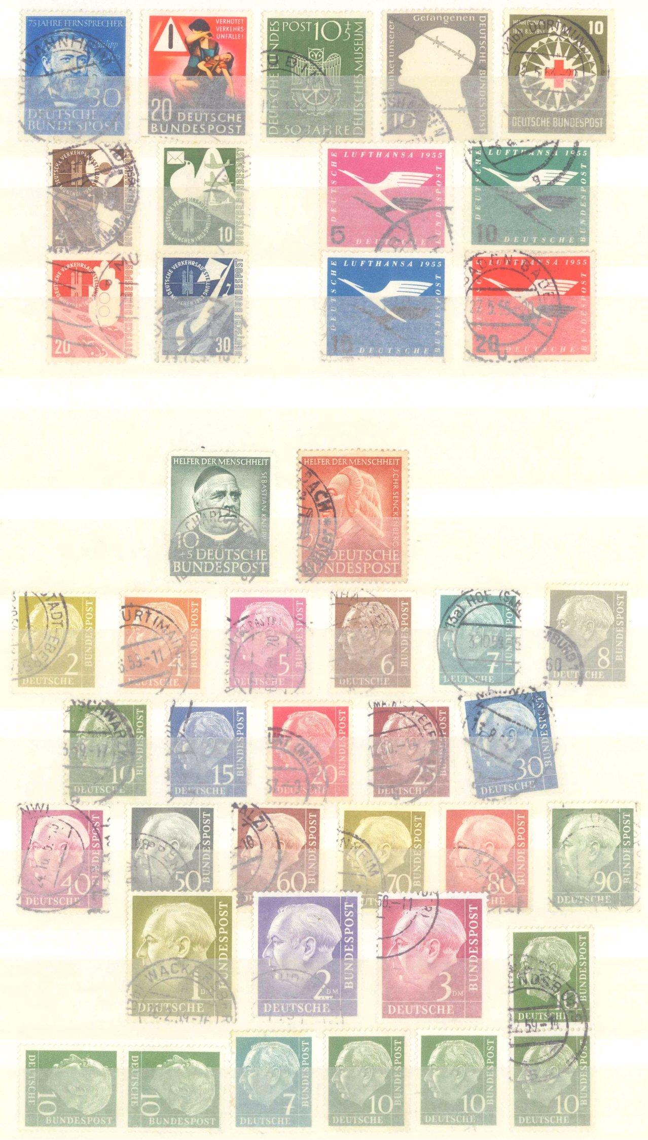 Briefmarken Nachlass Alle Welt-20