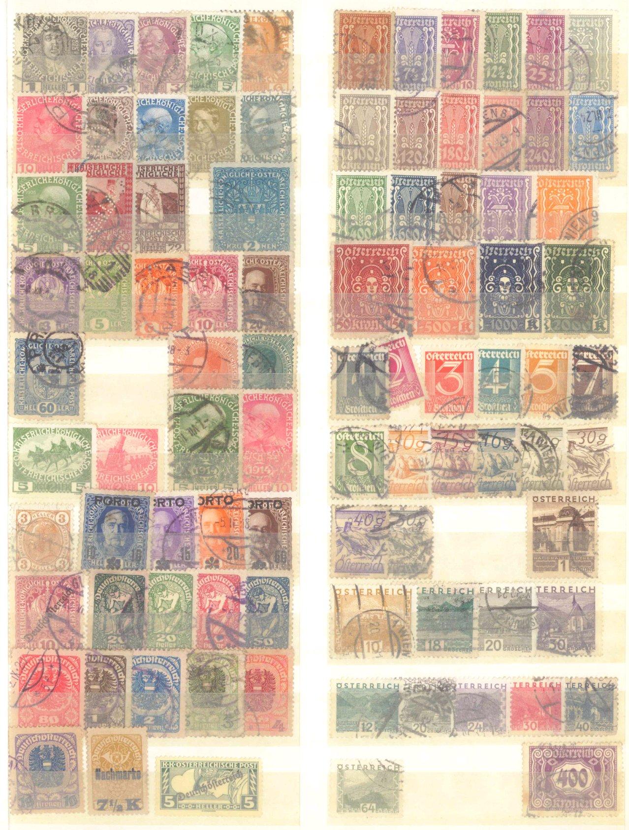 Briefmarken Nachlass Alle Welt-21