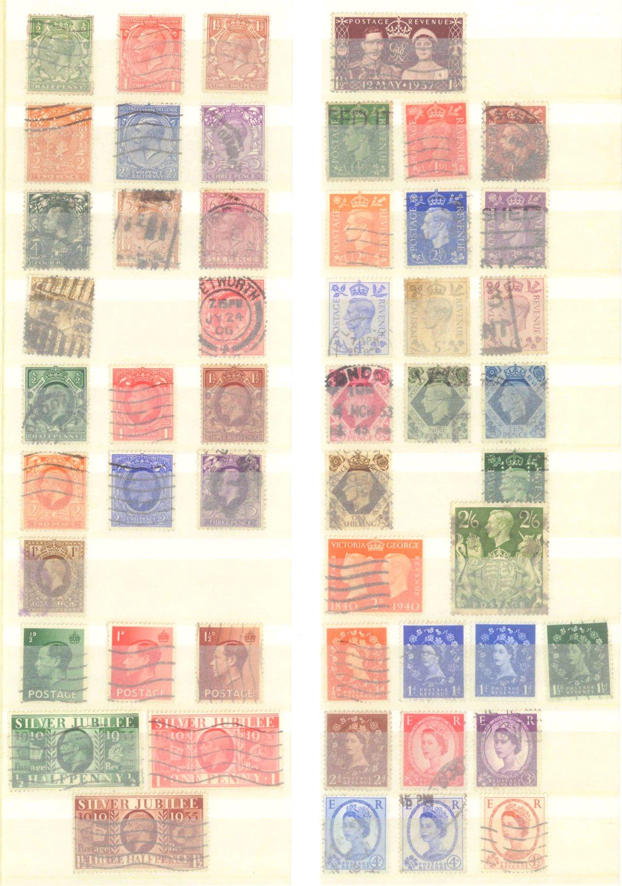 Briefmarken Nachlass Alle Welt-22