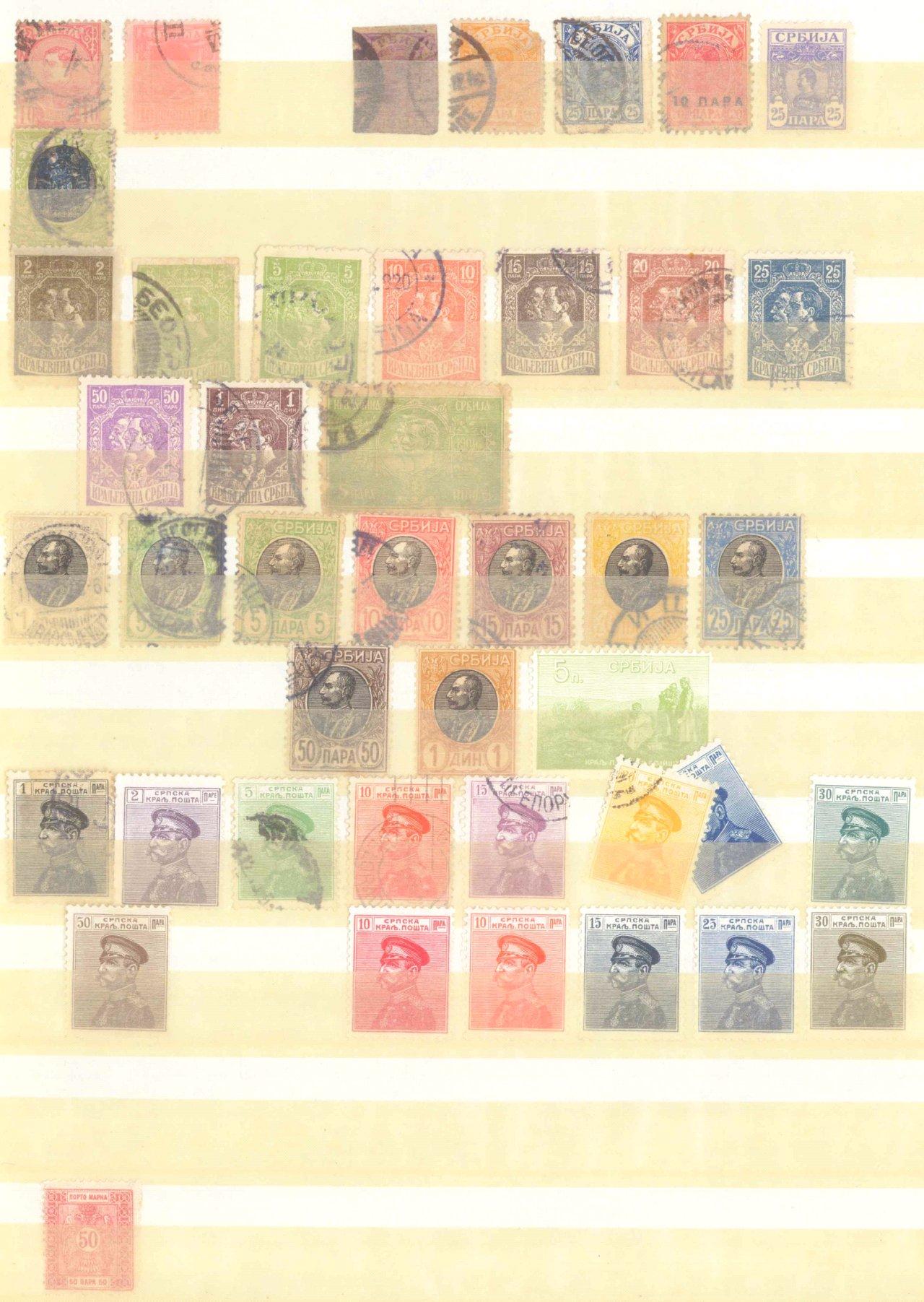 Briefmarken Nachlass Alle Welt-23