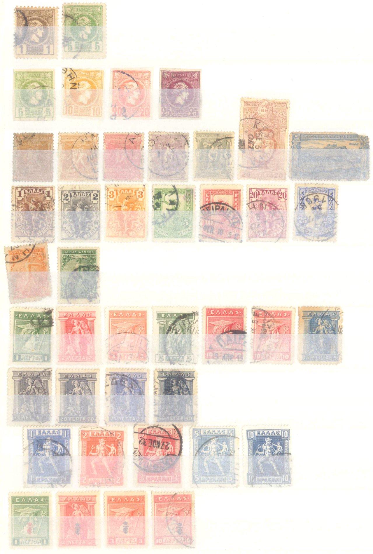 Briefmarken Nachlass Alle Welt-24