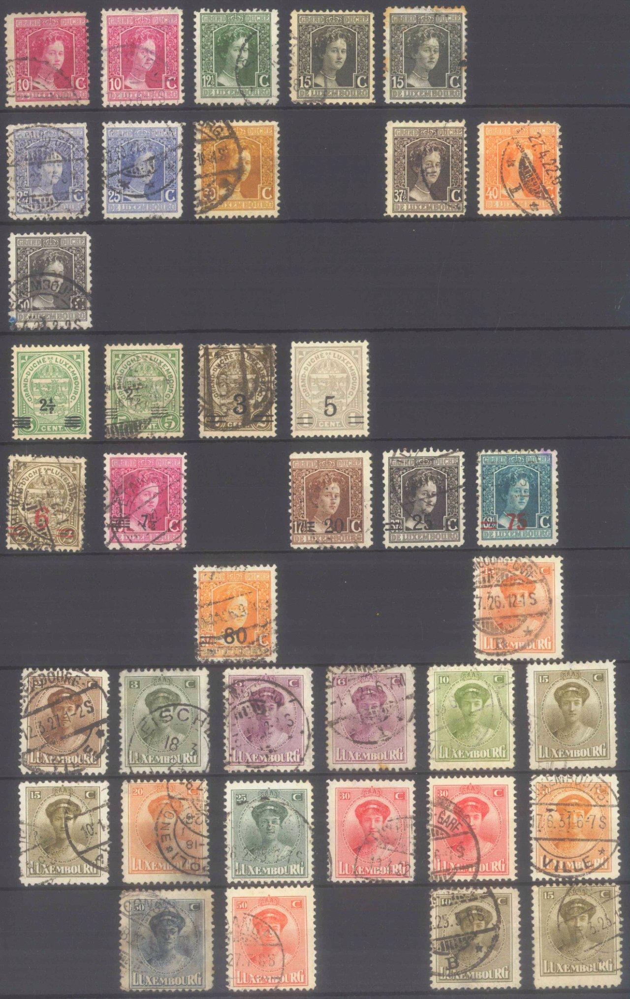 Briefmarken Nachlass Alle Welt-26