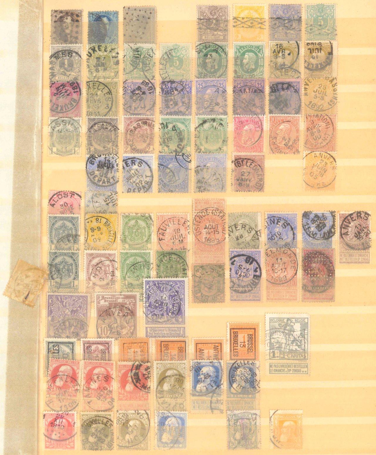 Briefmarken Nachlass Alle Welt-27