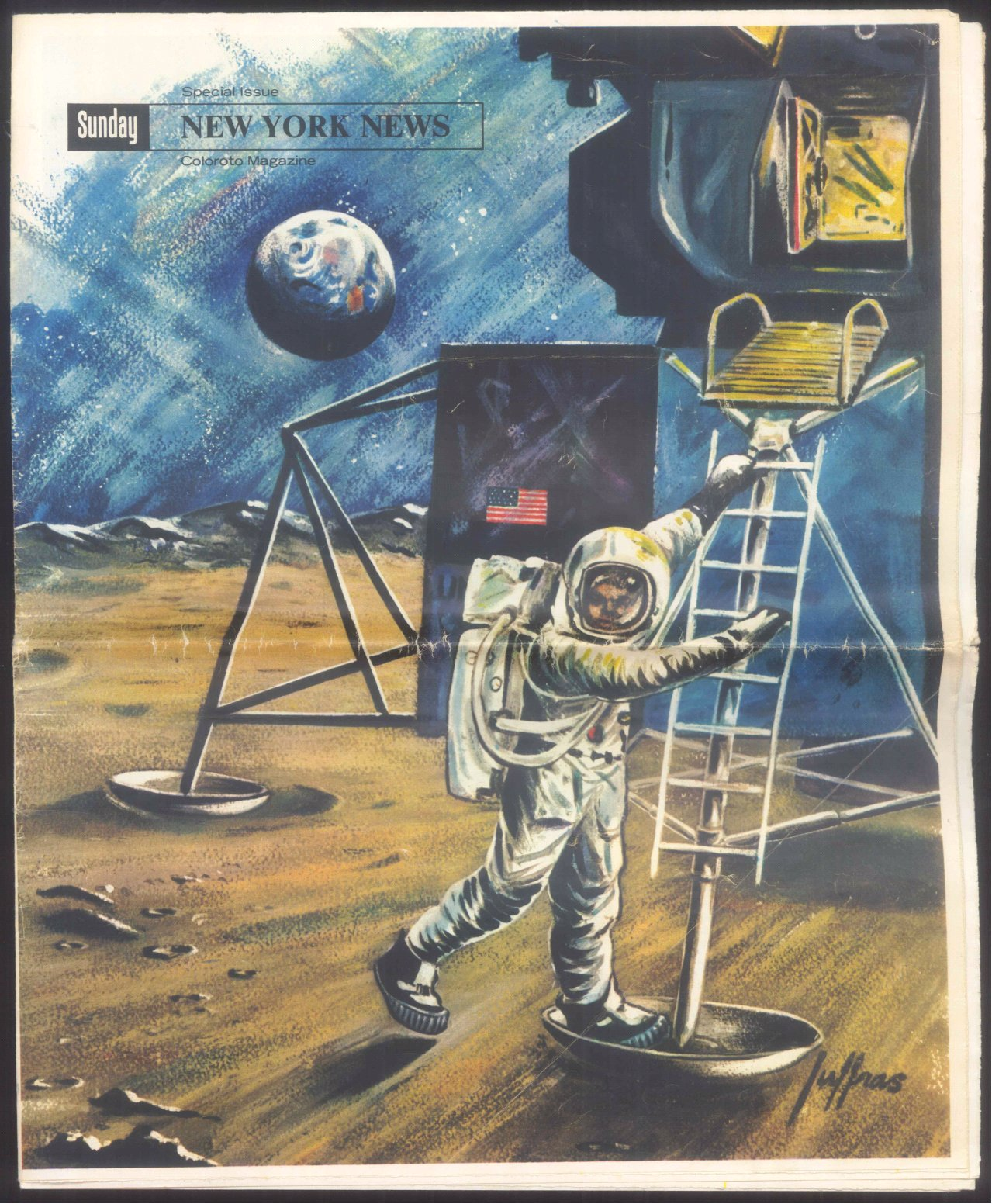 New York News, Special Issue, Apollo 11 Mondlandung