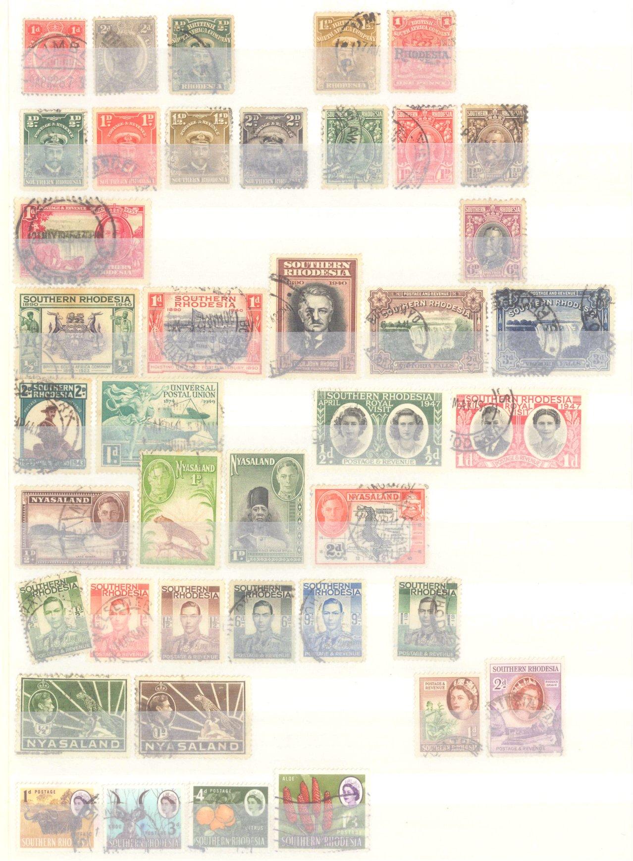Briefmarkennachlass Alle Welt, dabei auch China-7