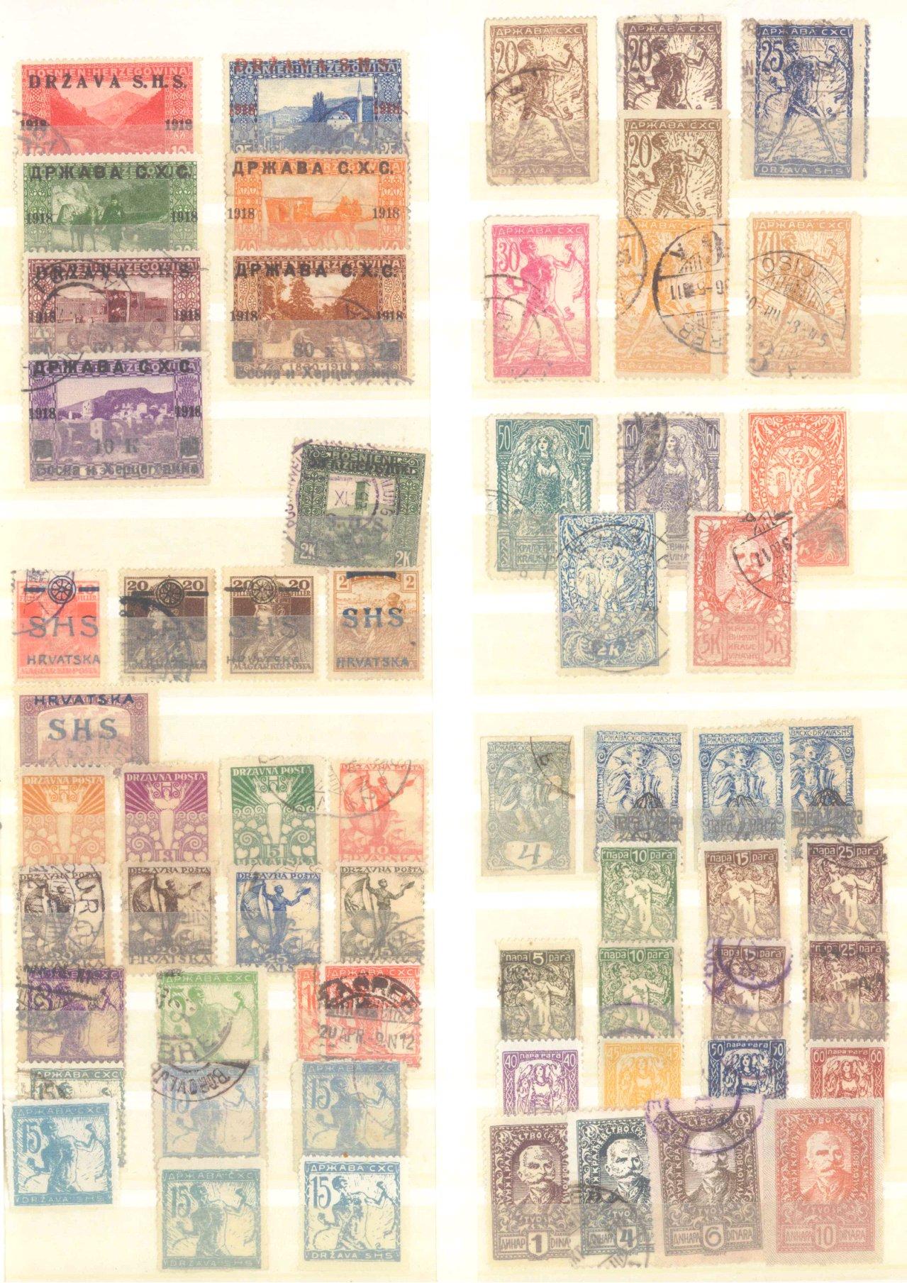 Briefmarkennachlass Alle Welt, dabei auch China-10
