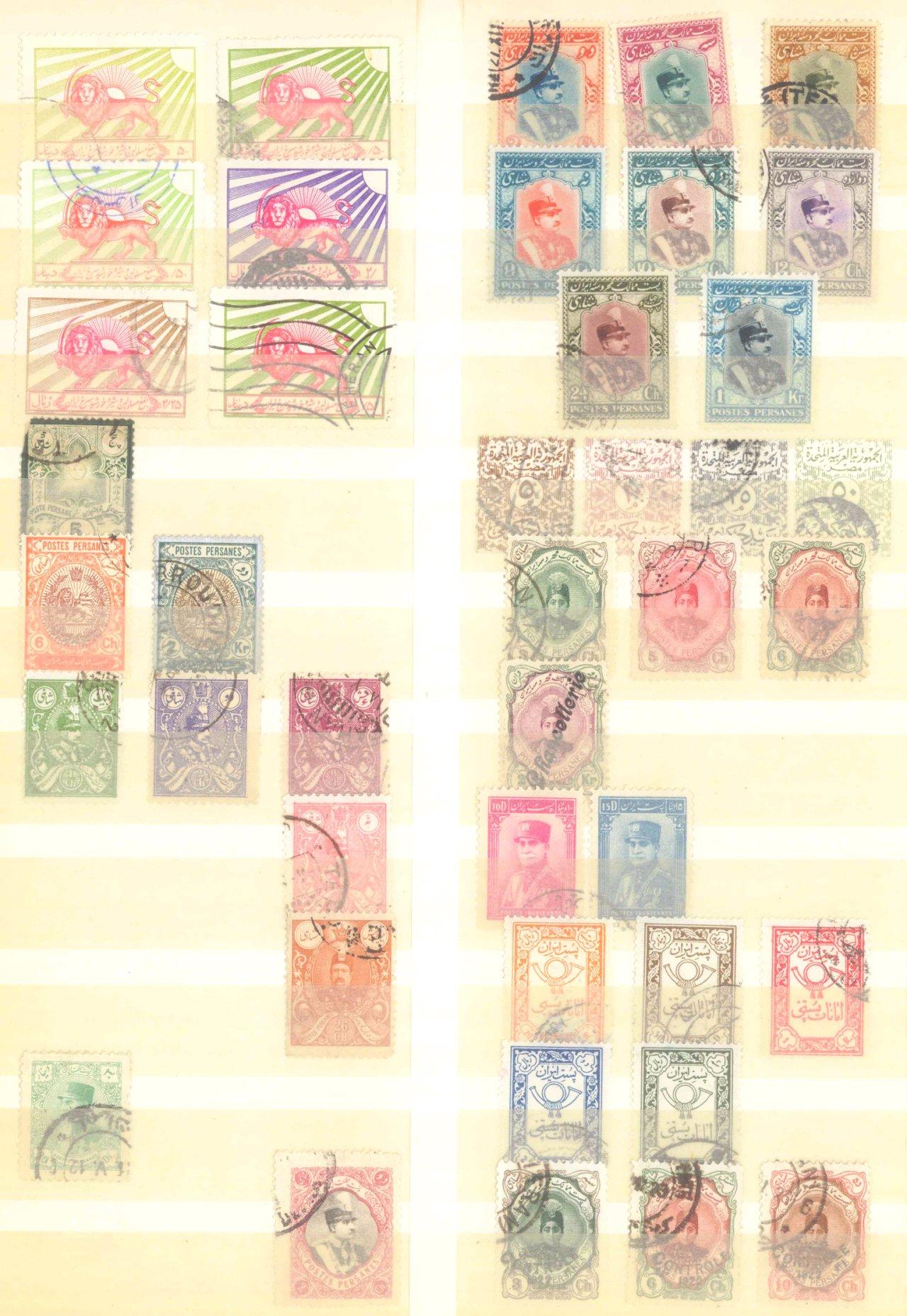Briefmarkennachlass Alle Welt, dabei auch China-11