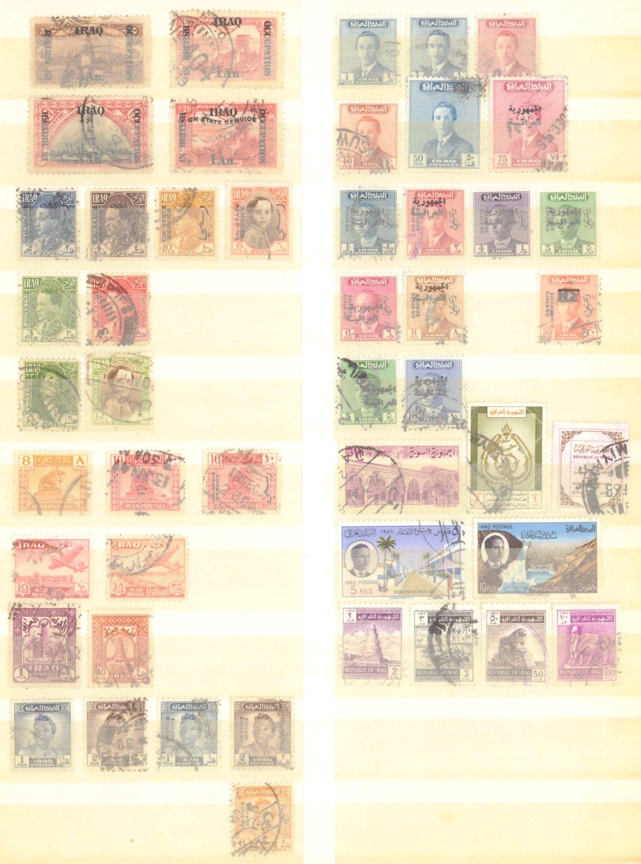 Briefmarkennachlass Alle Welt, dabei auch China-12