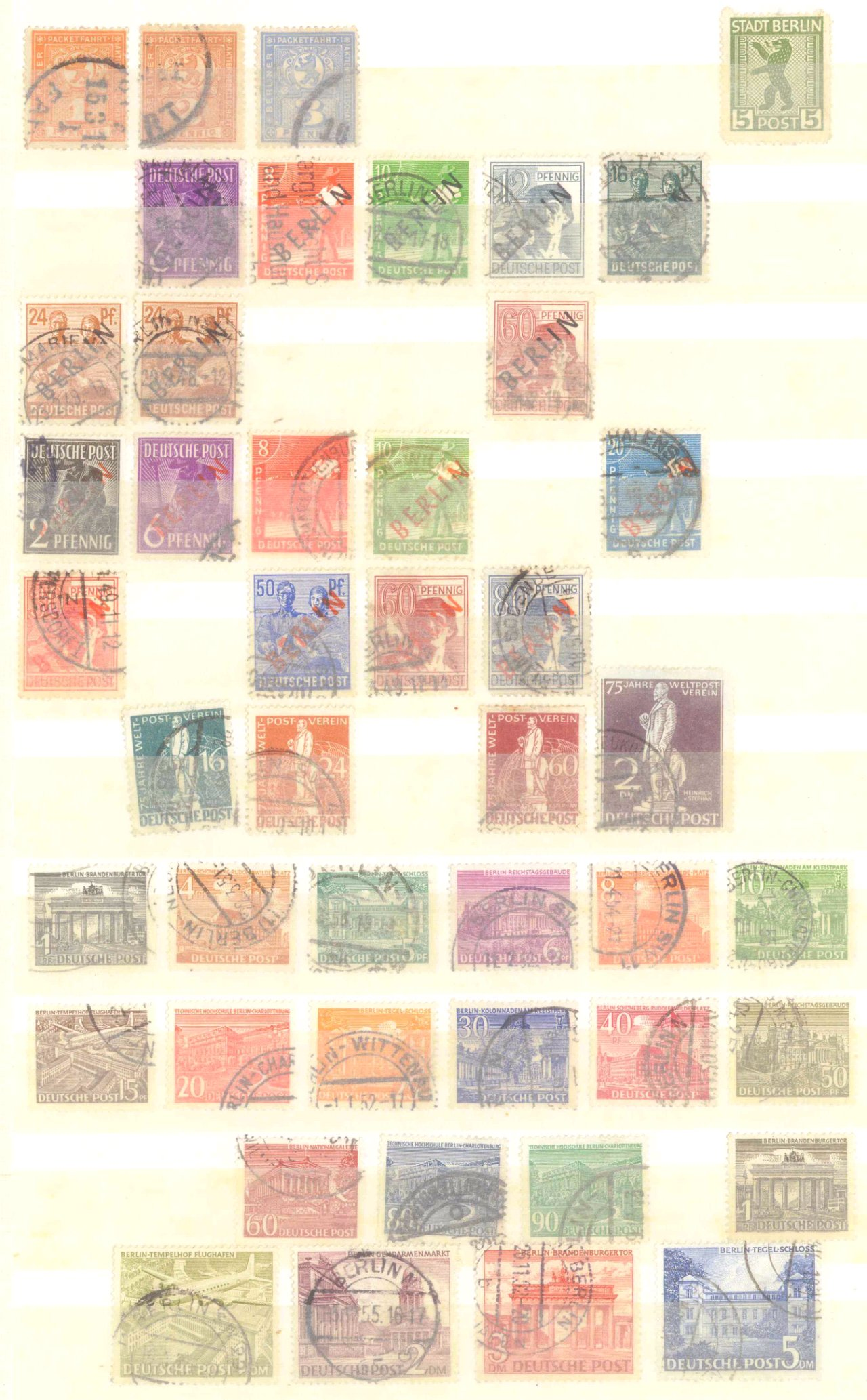 Briefmarkennachlass Alle Welt, dabei auch China-13