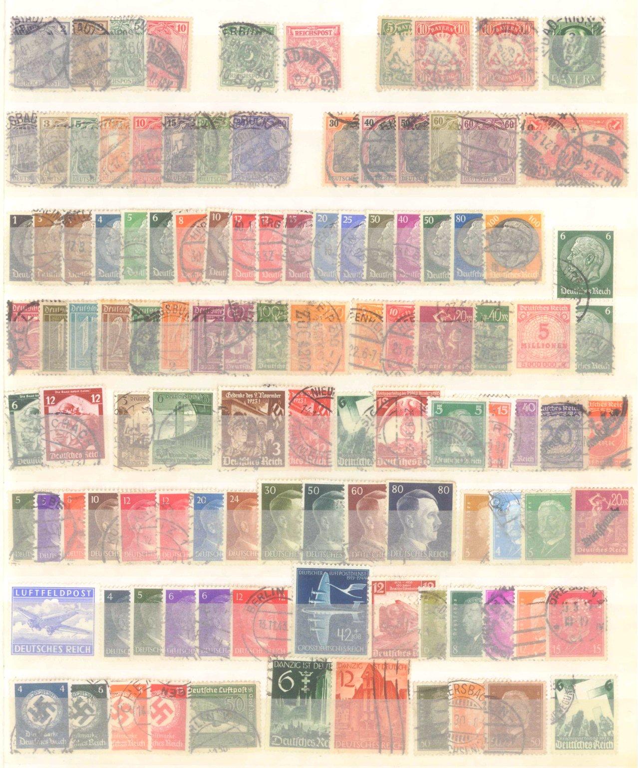 Briefmarkennachlass Alle Welt, dabei auch China-15