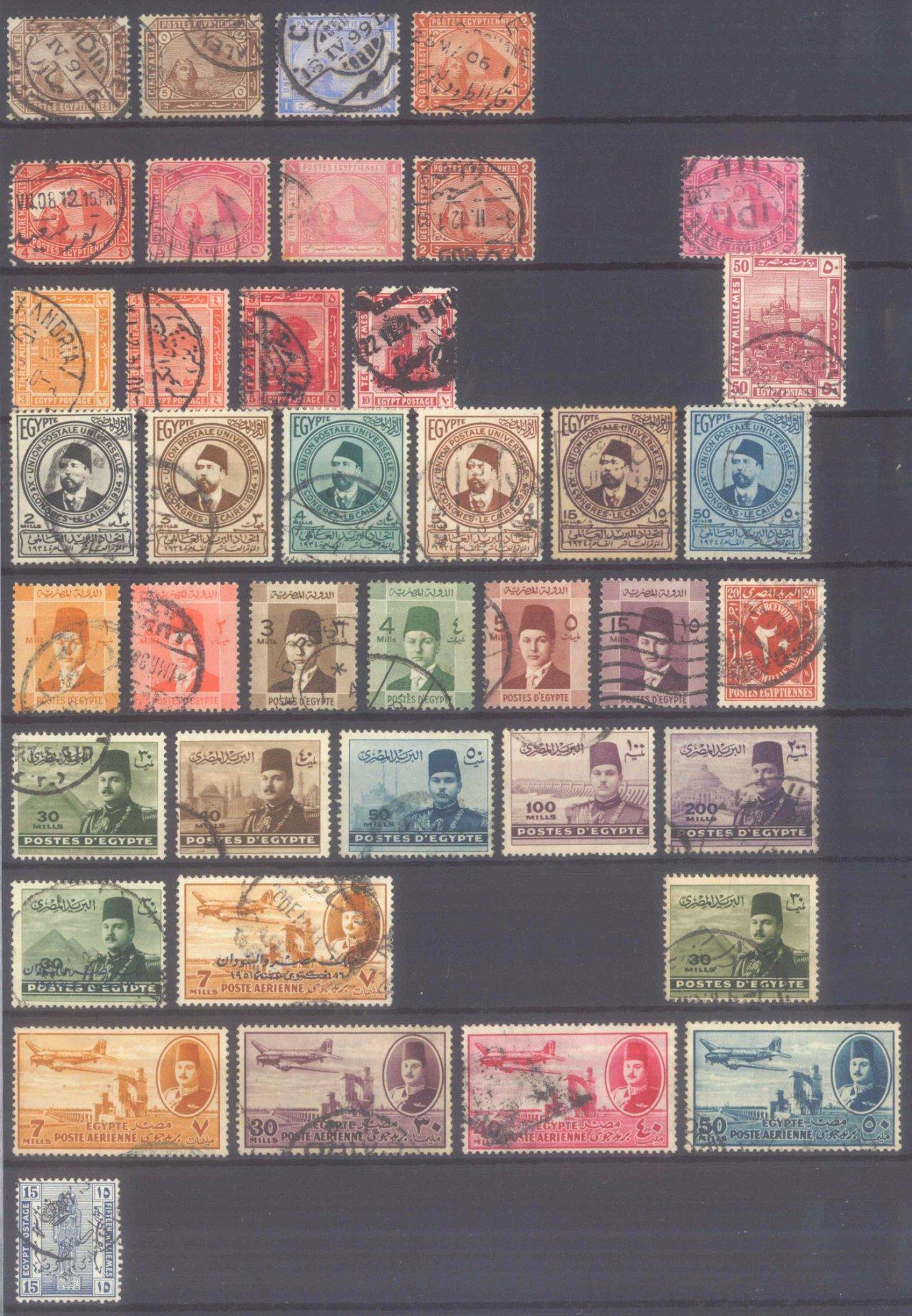 Briefmarkennachlass Alle Welt, dabei auch China-19