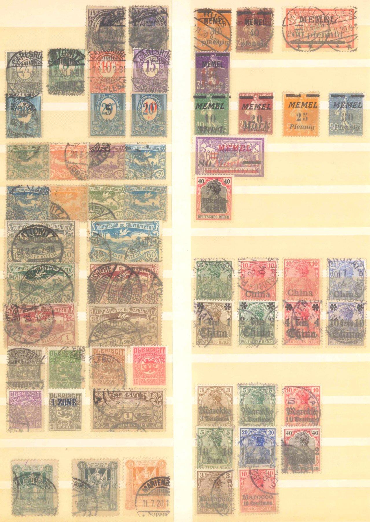 Briefmarkennachlass Alle Welt, dabei auch China-23