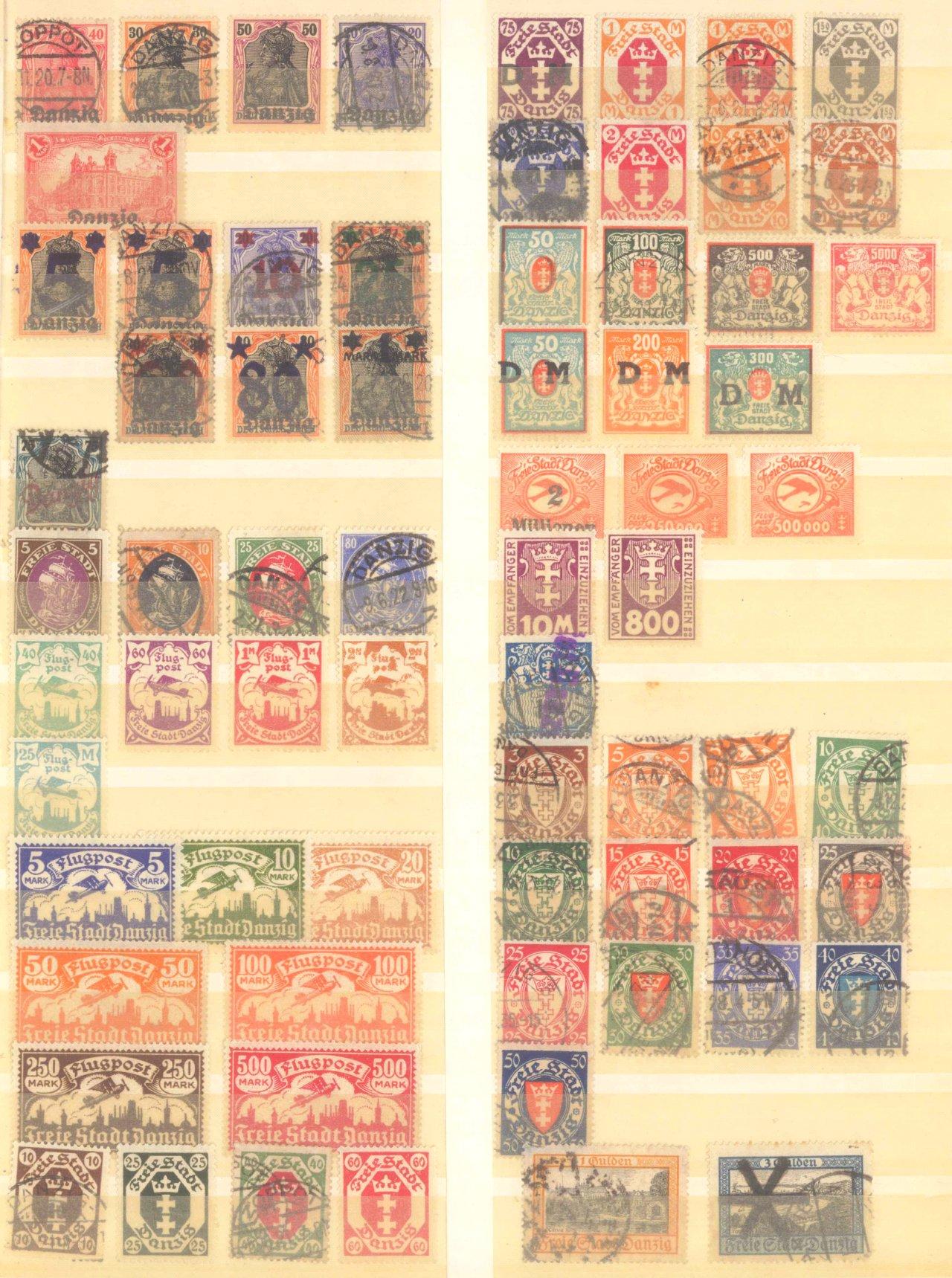 Briefmarkennachlass Alle Welt, dabei auch China-30