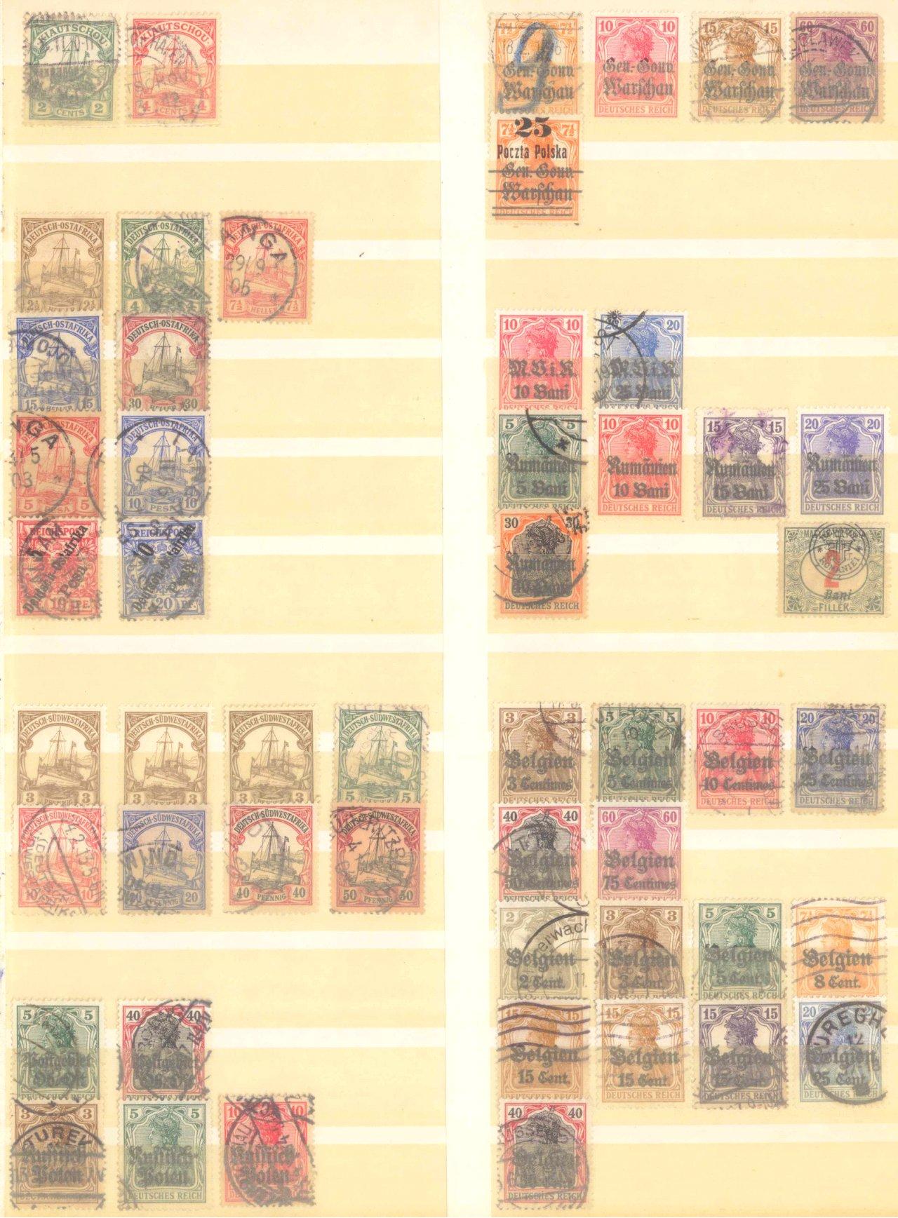 Briefmarkennachlass Alle Welt, dabei auch China-31