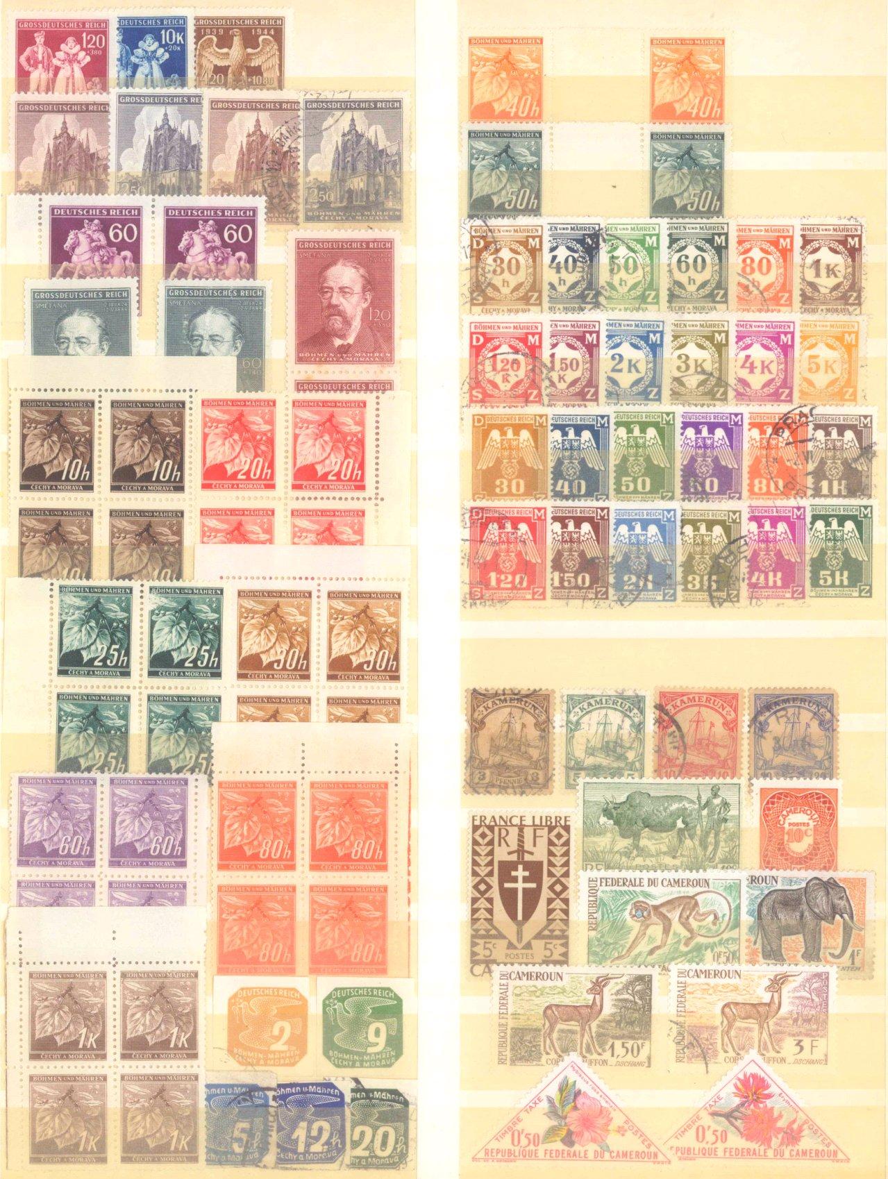 Briefmarkennachlass Alle Welt, dabei auch China-34