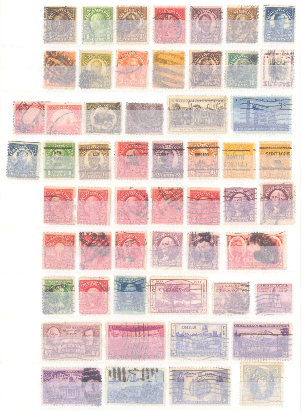 Briefmarkennachlass Alle Welt, dabei auch China-37