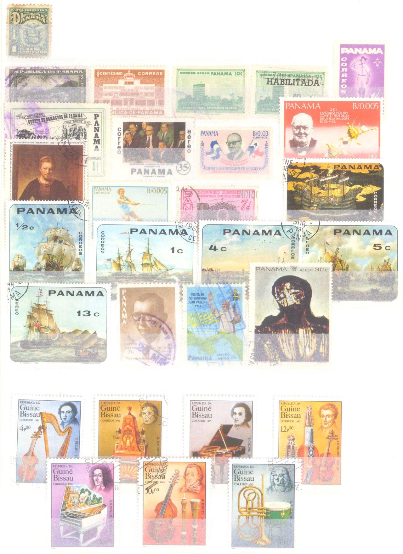 Briefmarkennachlass Alle Welt, dabei auch China-39