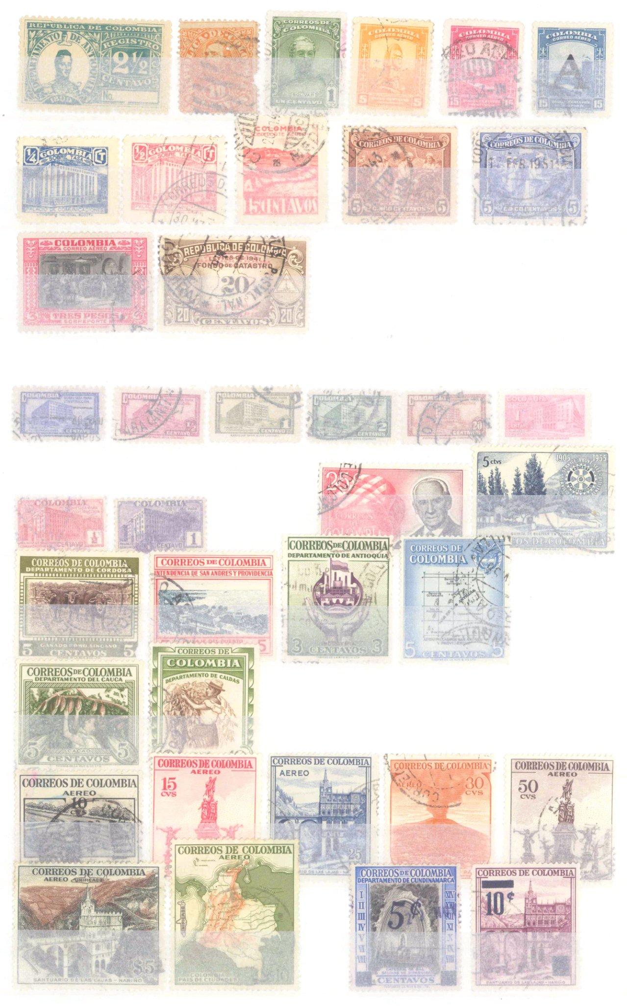 Briefmarkennachlass Alle Welt, dabei auch China-42