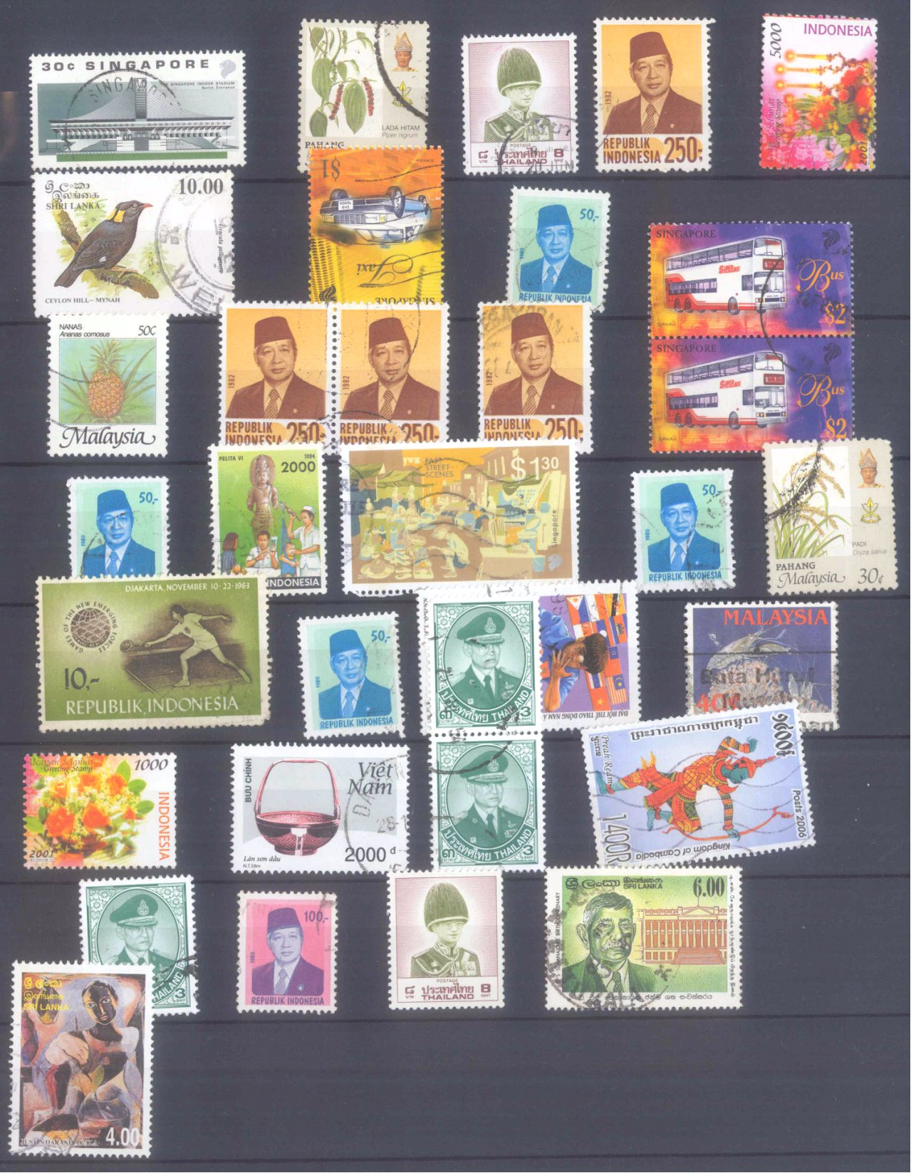 Briefmarkennachlass Alle Welt, dabei auch China-44