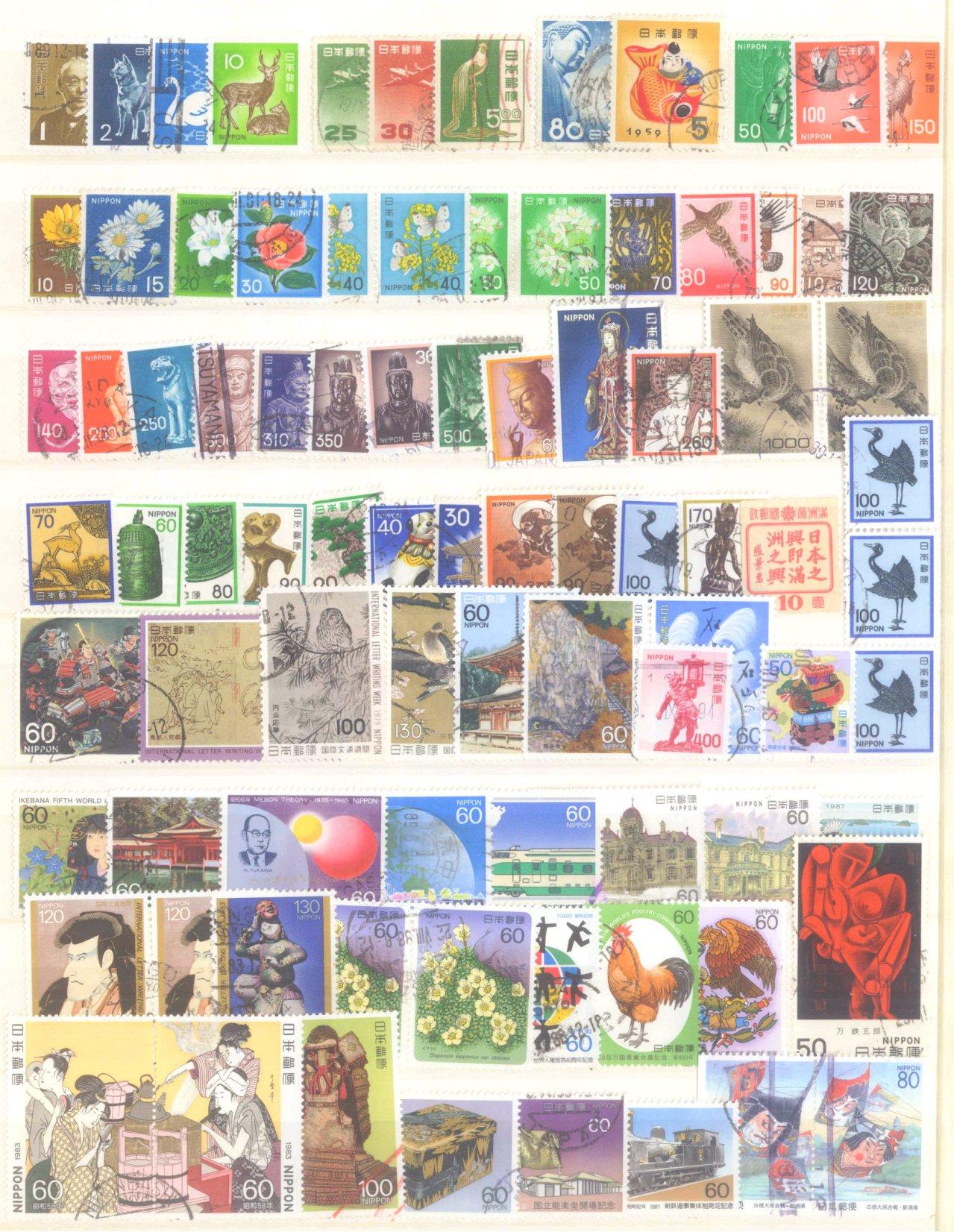 Briefmarkennachlass Alle Welt, dabei auch China-49