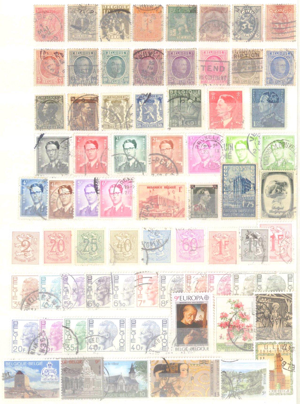 Briefmarkennachlass Alle Welt, dabei auch China-51