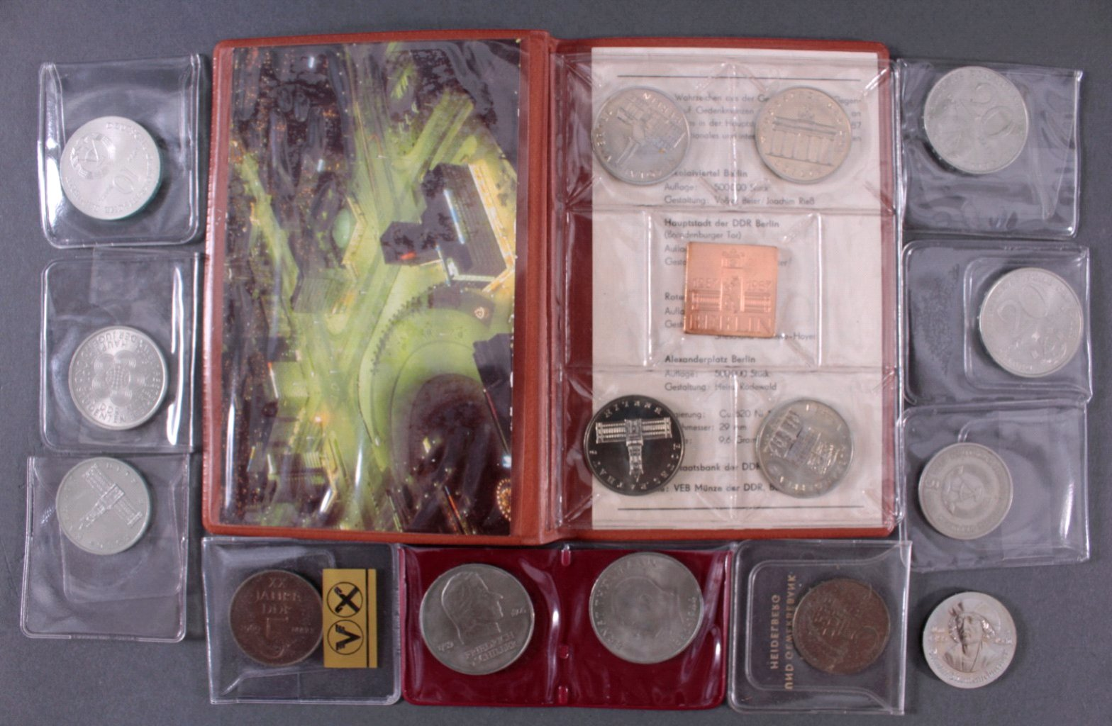 Konvolut Münzen DDR