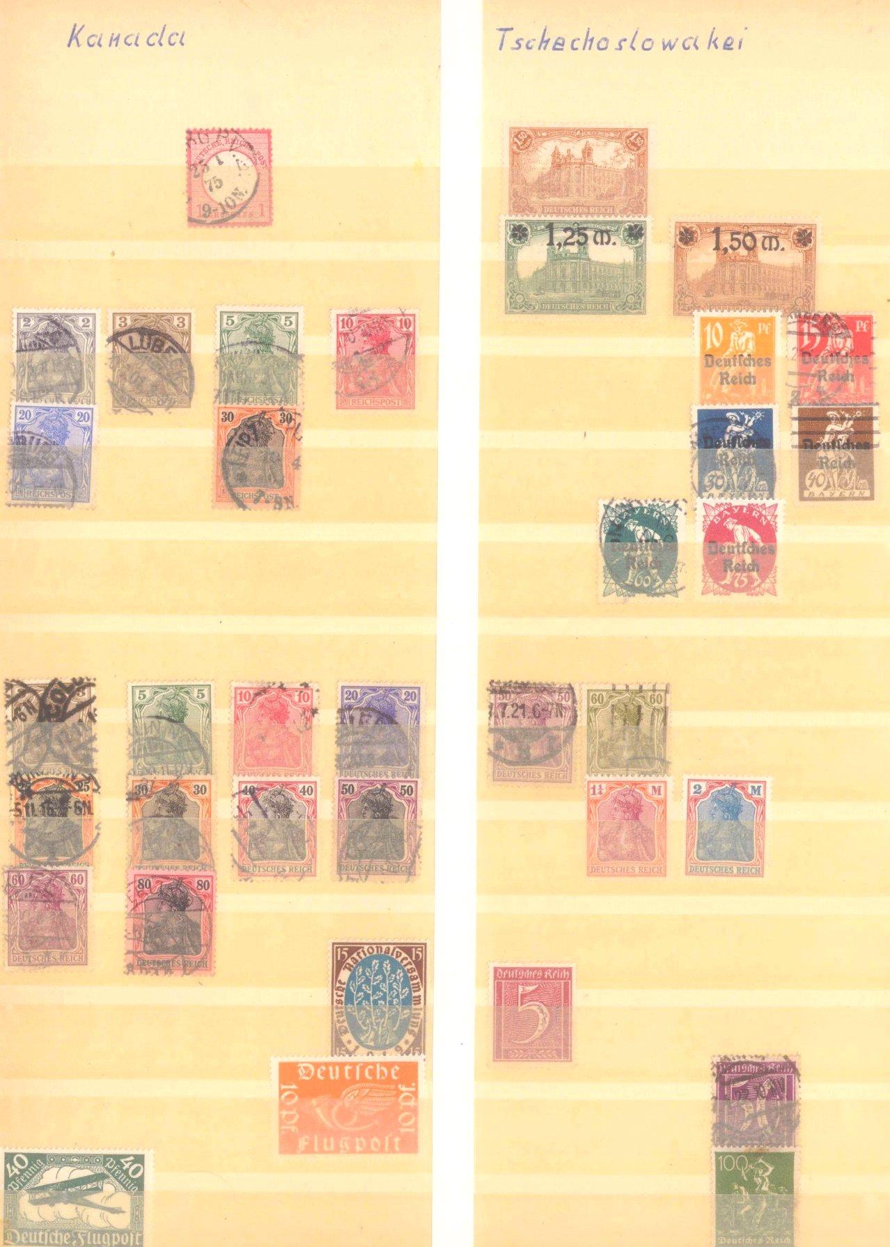 Briefmarken Fundus-8