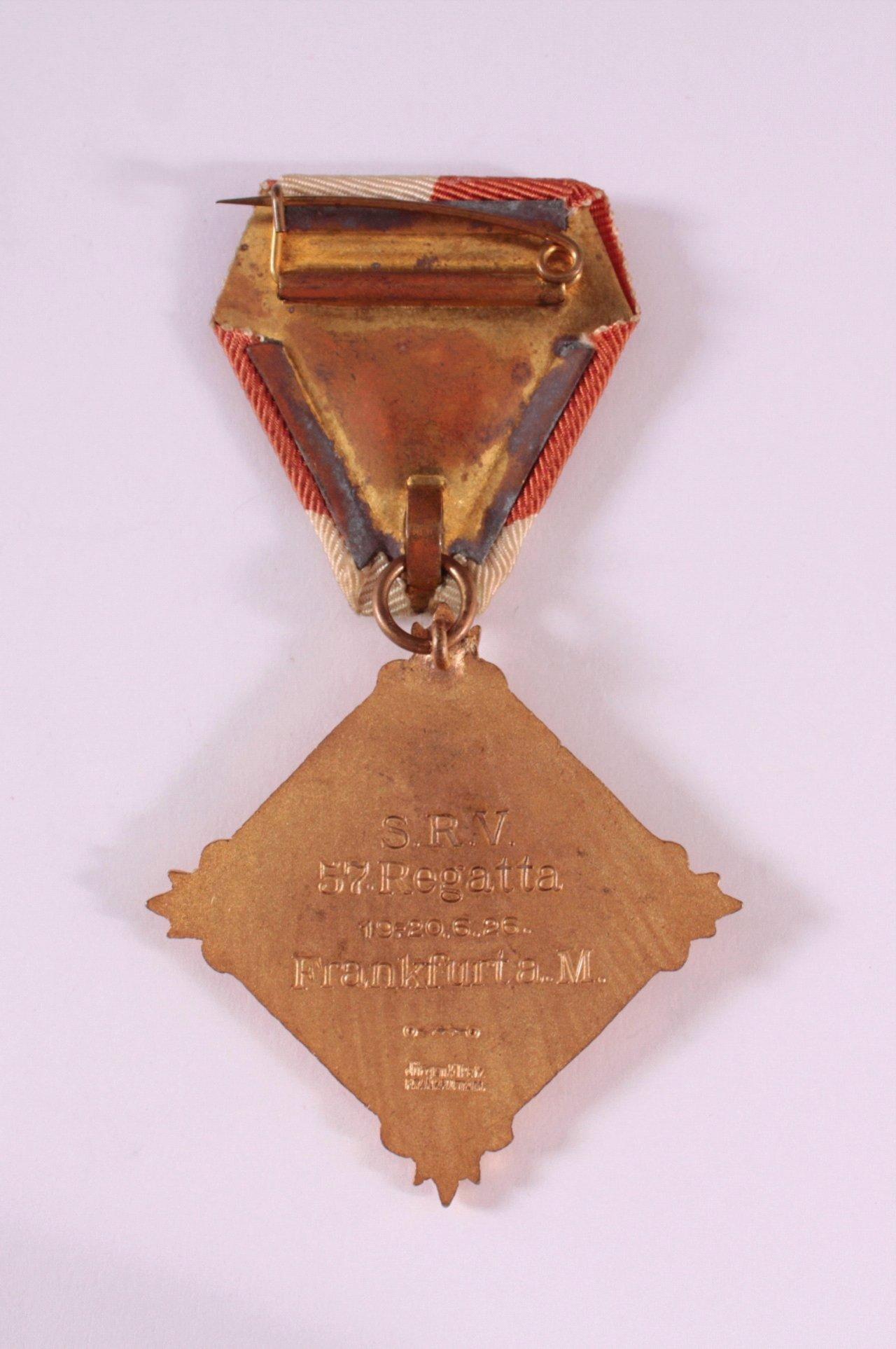 Abzeichen Süddeutscher Ruderverband Frankfurt 1913