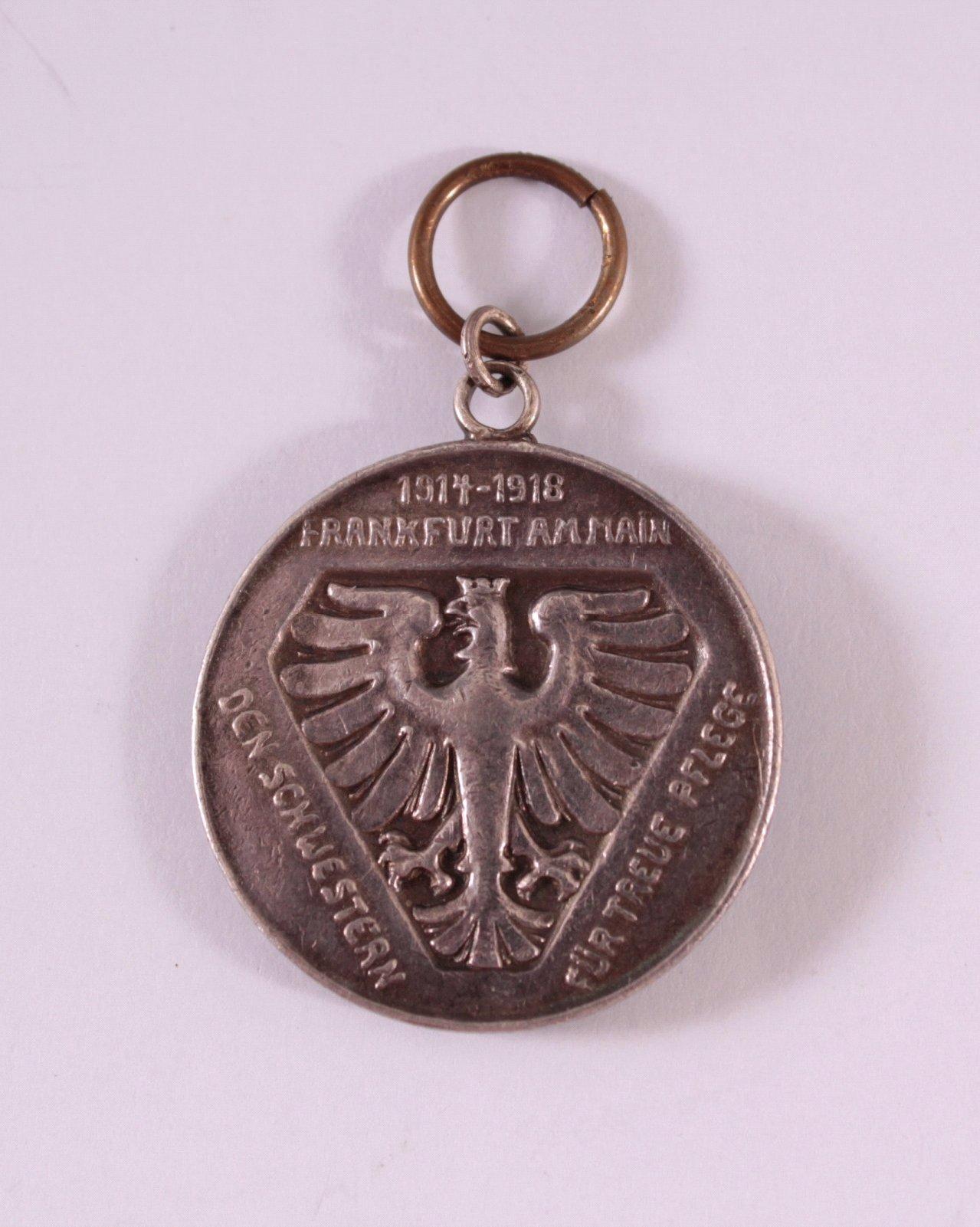 Anhänger, Den Schwestern für treue Pflege 1914-1918-1