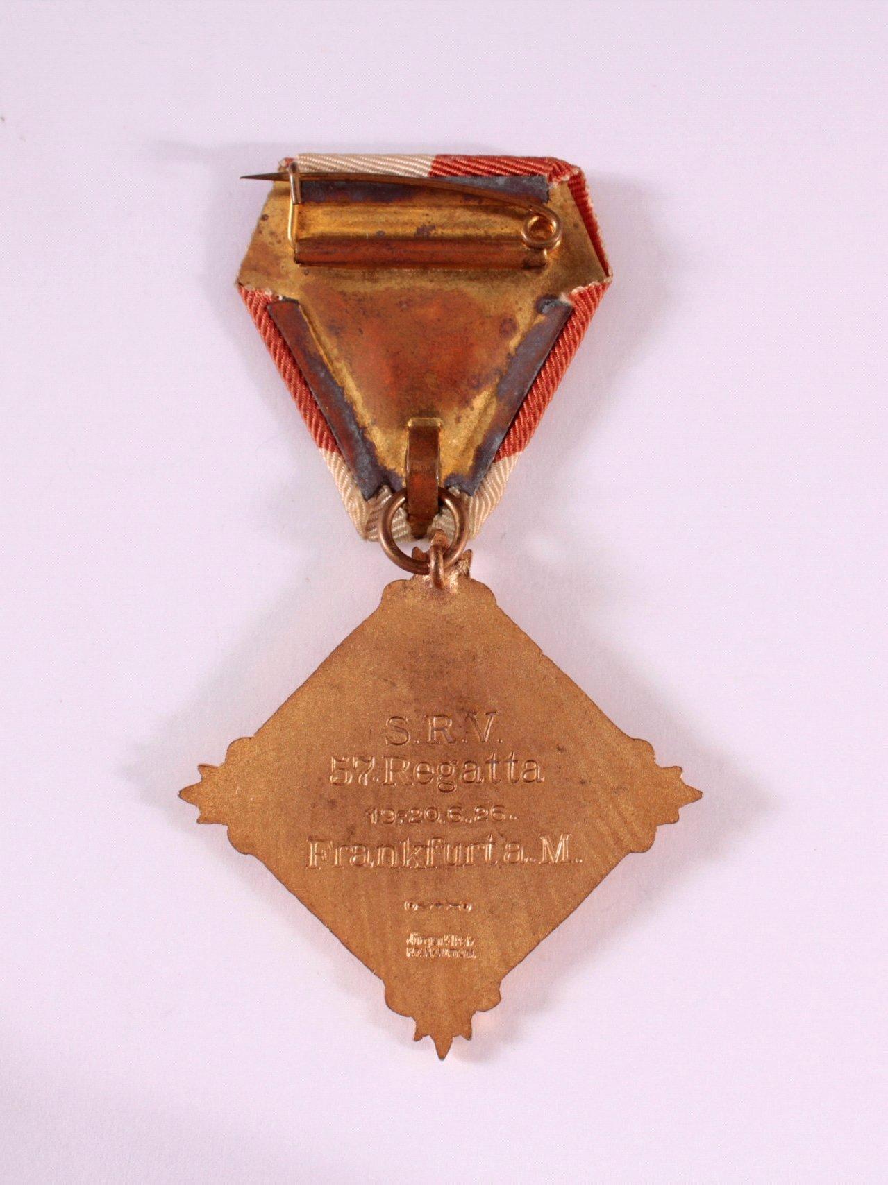 Abzeichen 57. SRV Regatta Frankfurt 1926-1