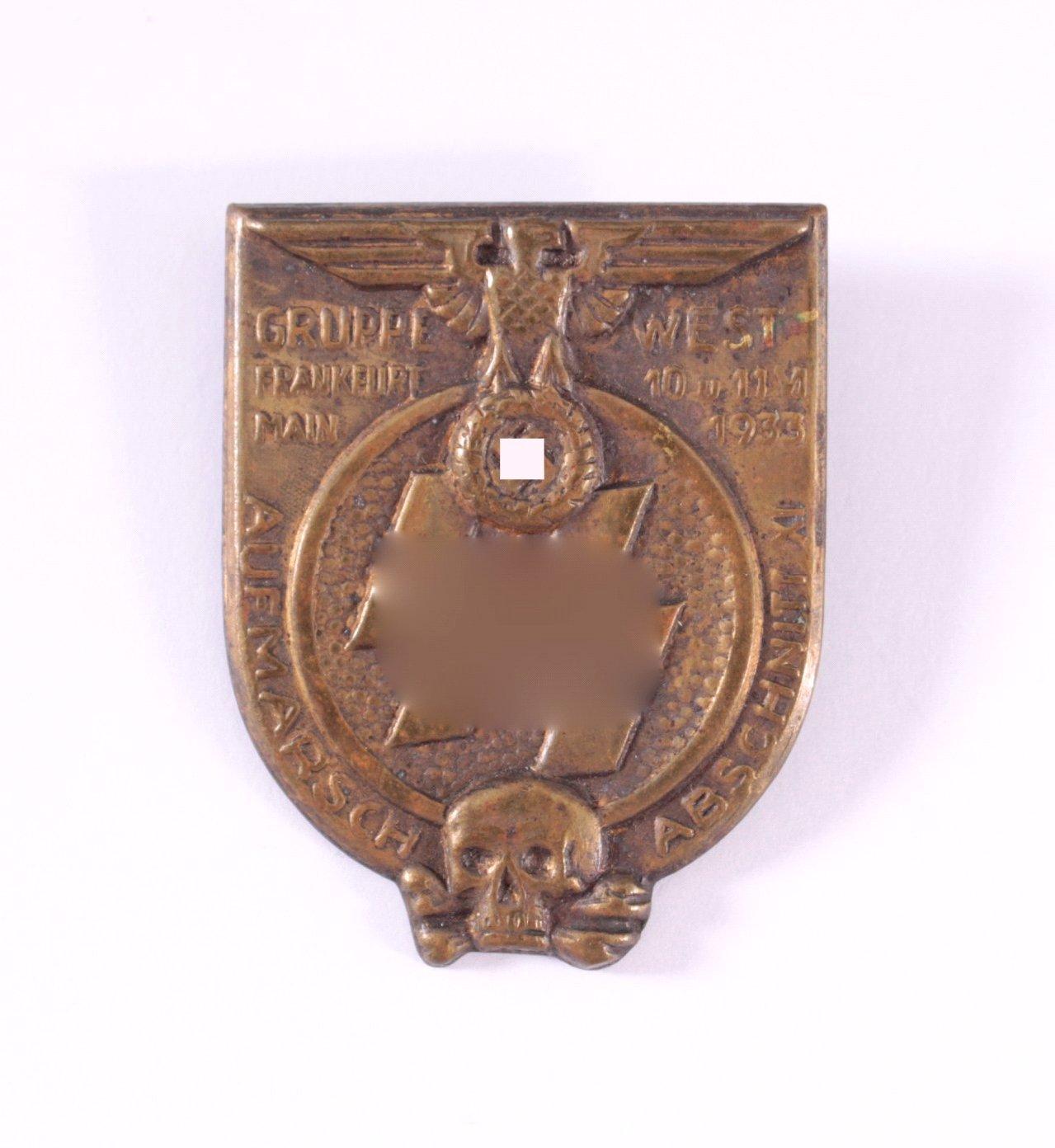 Abzeichen SS Aufmarsch Abschnitt XI, Gruppe West 1933