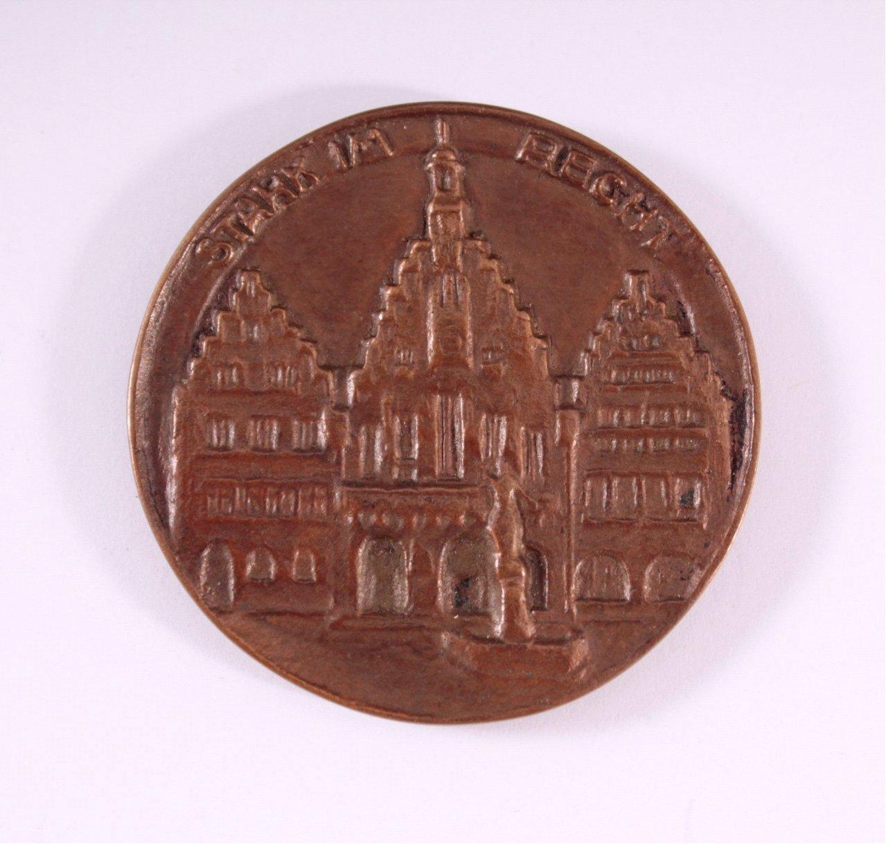 Bronze Medaille, Stark im Recht, Frankfurt 1934