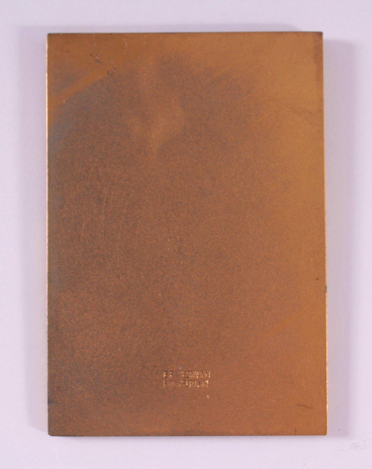 Vergoldete Plakette, Großer Preis IKA 1937-1
