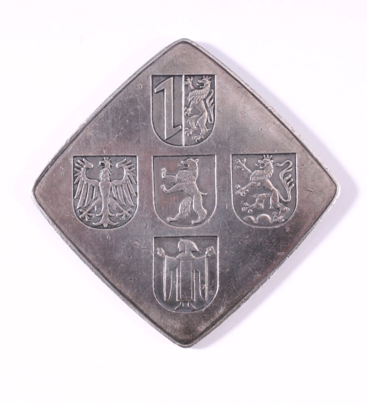 Silber Plakette Frankona-1
