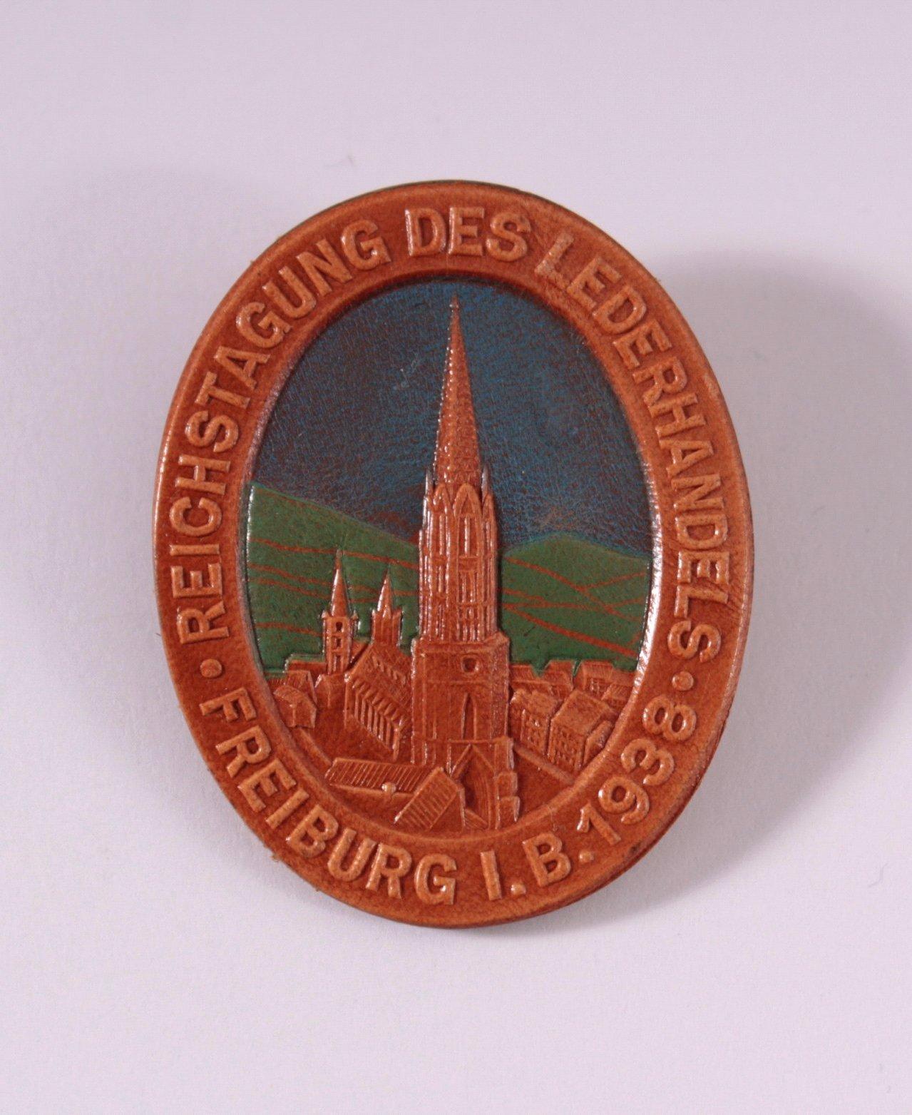 Anstecker, Reichstagung des Lederhandels 1938