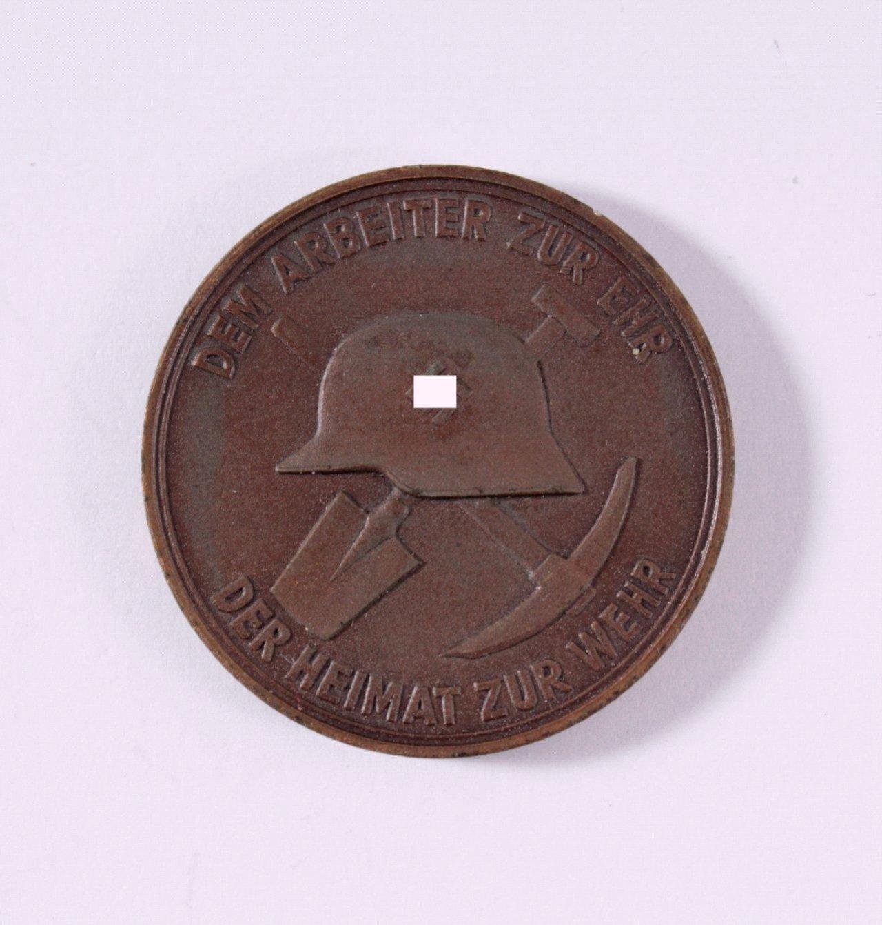Medaille Philipp Holzmann, Freiburg i/B. 1938-1