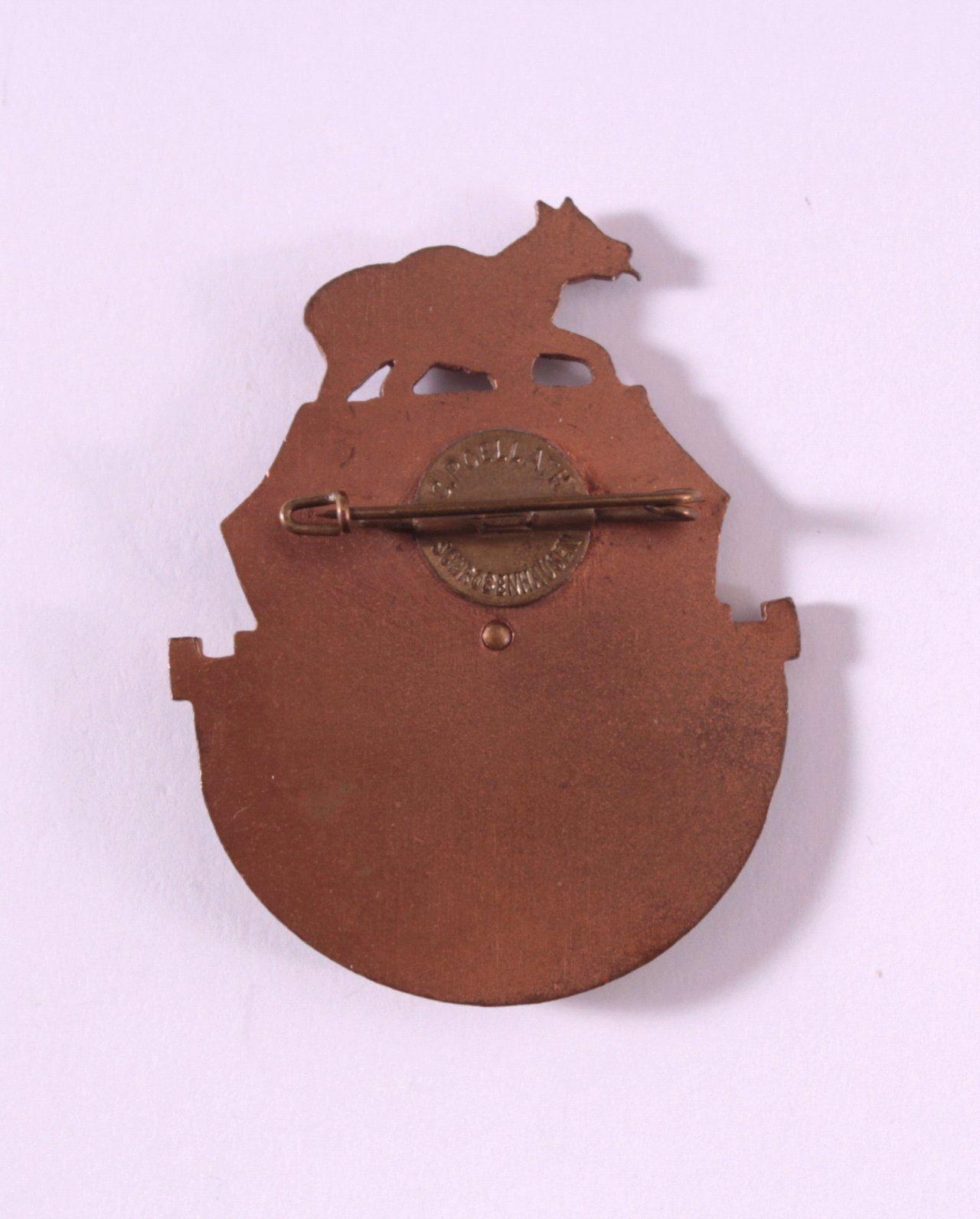Abzeichen Hartschier-Korps Freising, Reichsappell 1932-1